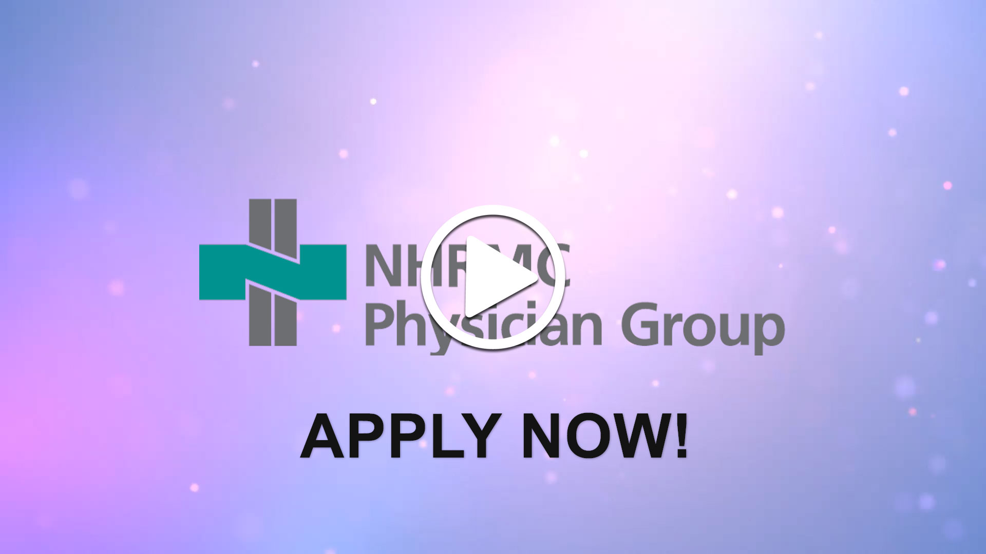 Watch our careers video for available job opening Non-Invasive Cardiologist for Coastal North Carolina in Wilmington, NC.  USA