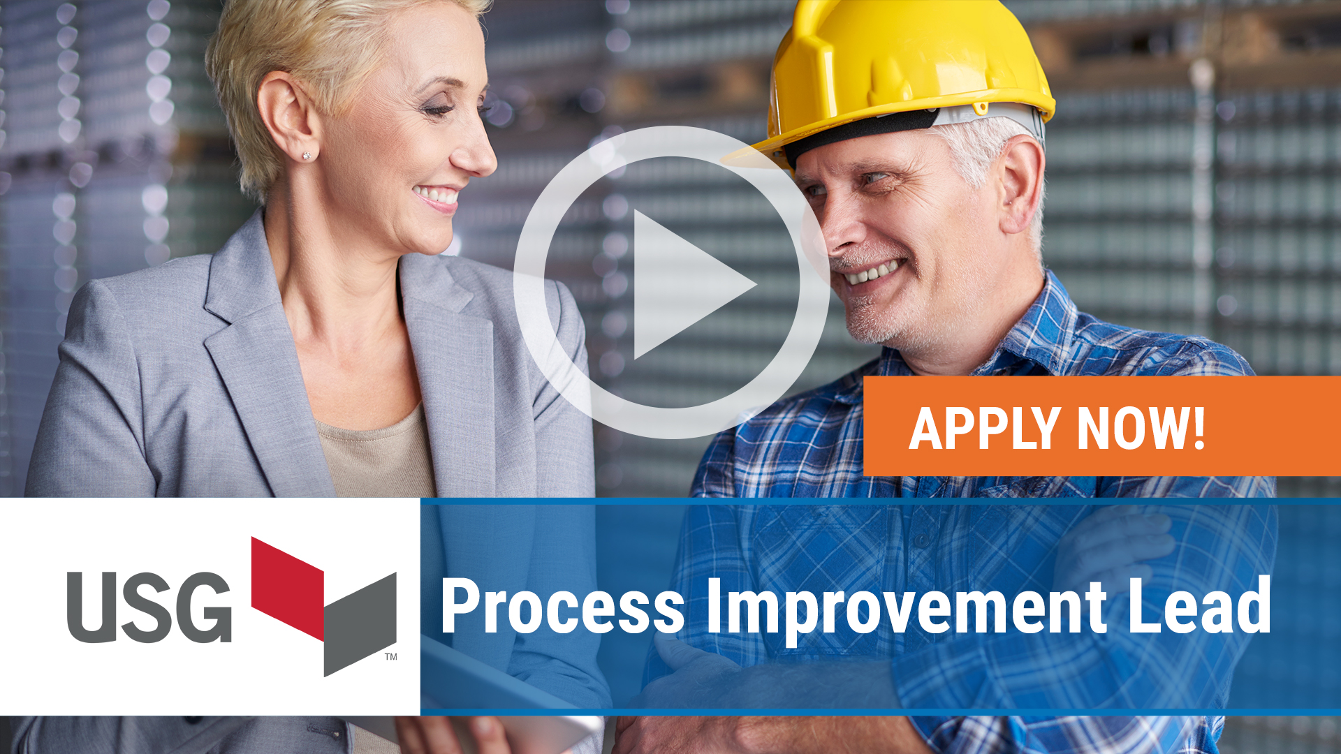 Watch our careers video for available job opening Process Improvement Lead in Chicago, IL