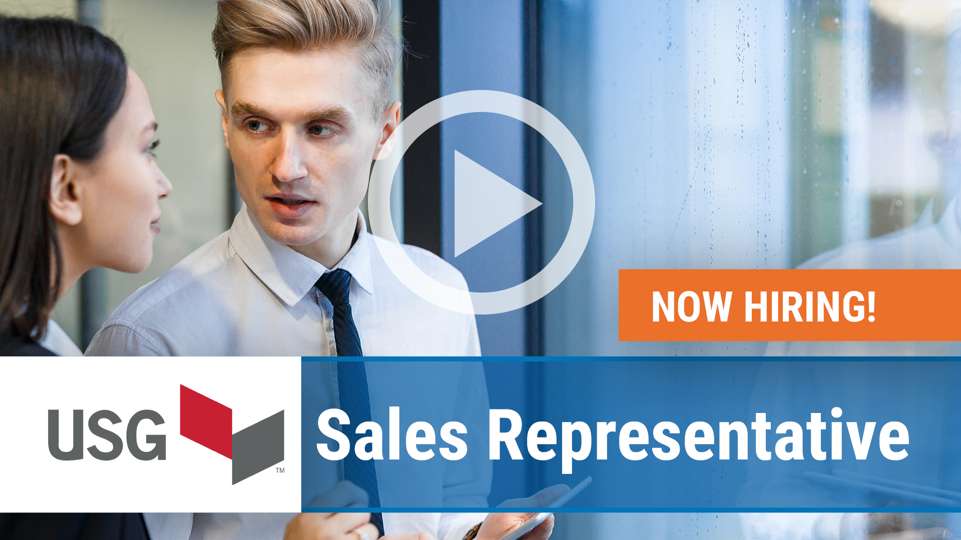 Watch our careers video for available job opening Sales Representative in San Francisco, CA