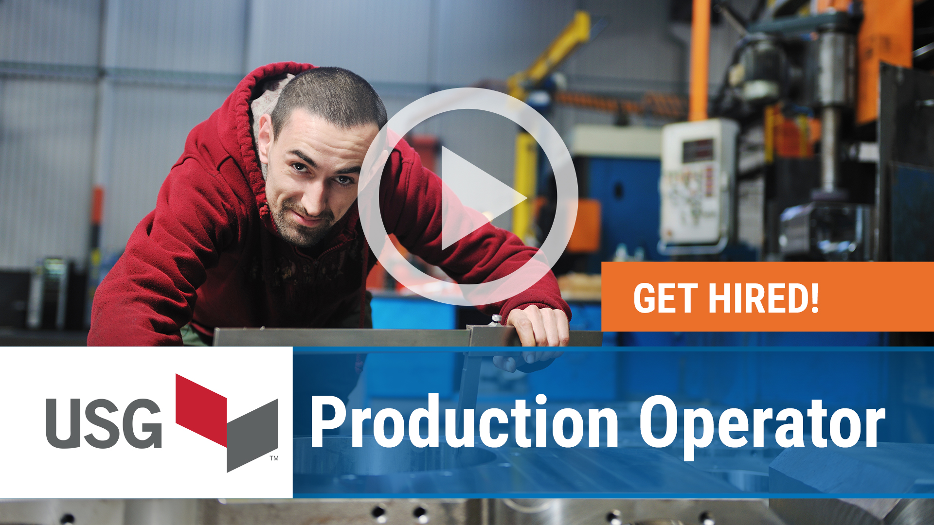 Watch our careers video for available job opening Production Operator in Oakfield, NY