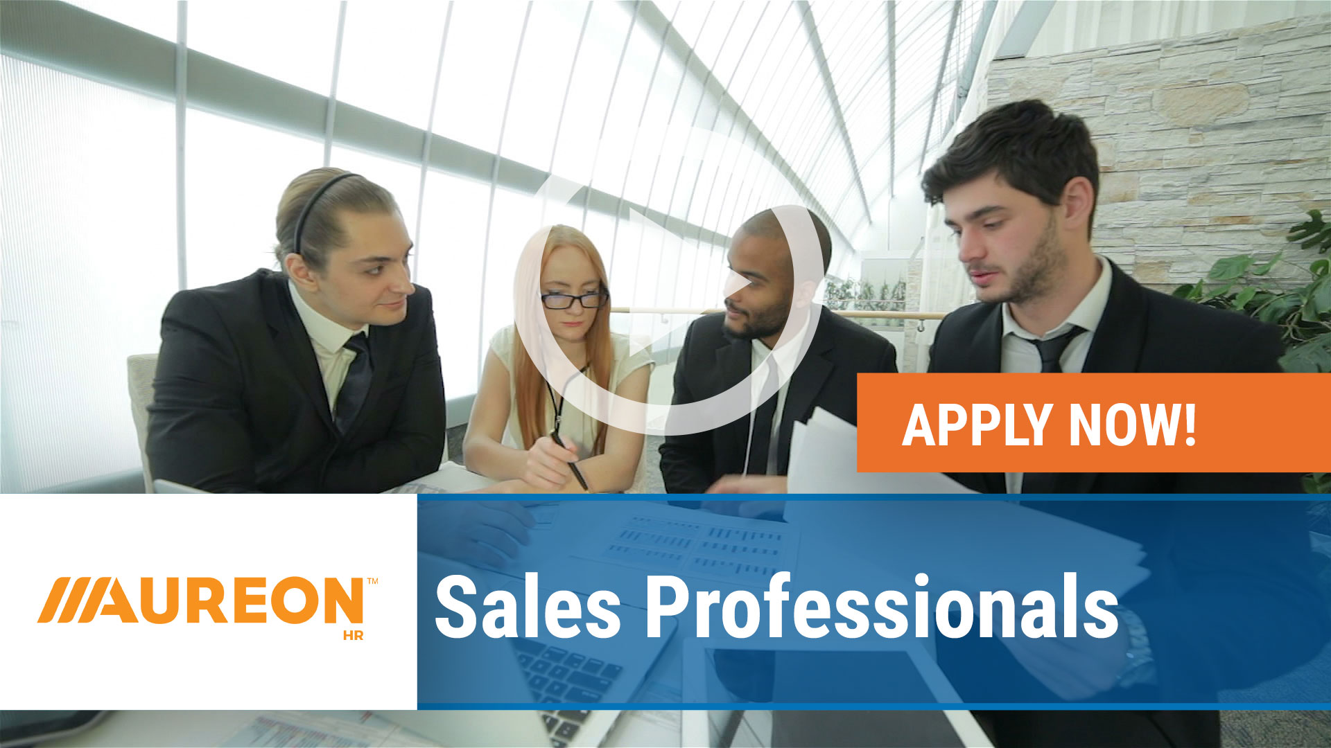 Watch our careers video for available job opening Sales Professionals in Des Moines, IA
