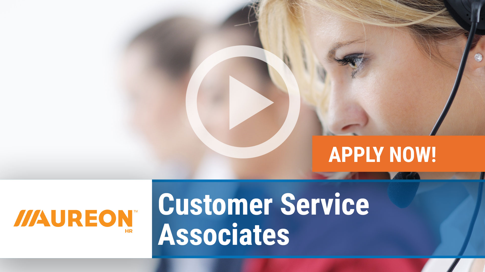 Watch our careers video for available job opening Customer Service Associates in Urbandale,  IA