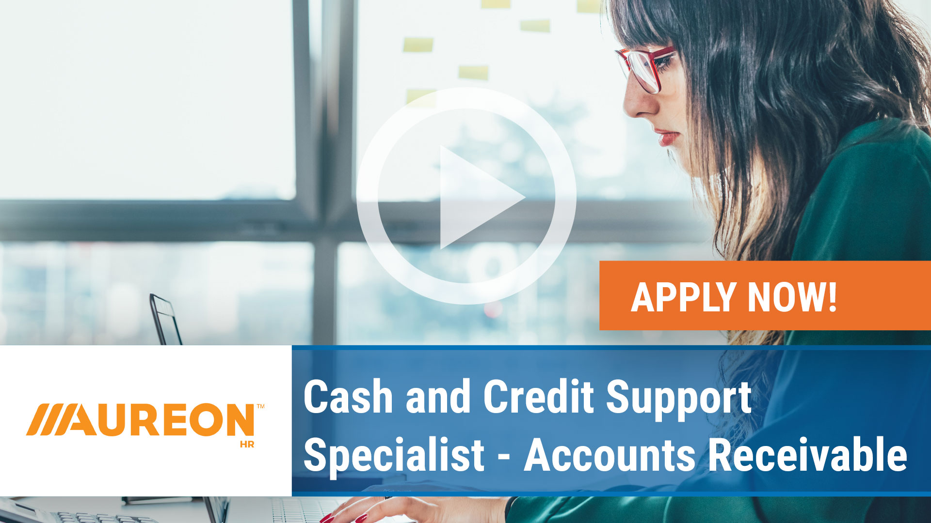 Watch our careers video for available job opening Cash and Credit Support Specialist - Accounts Receivable in West Des Moines, Iowa