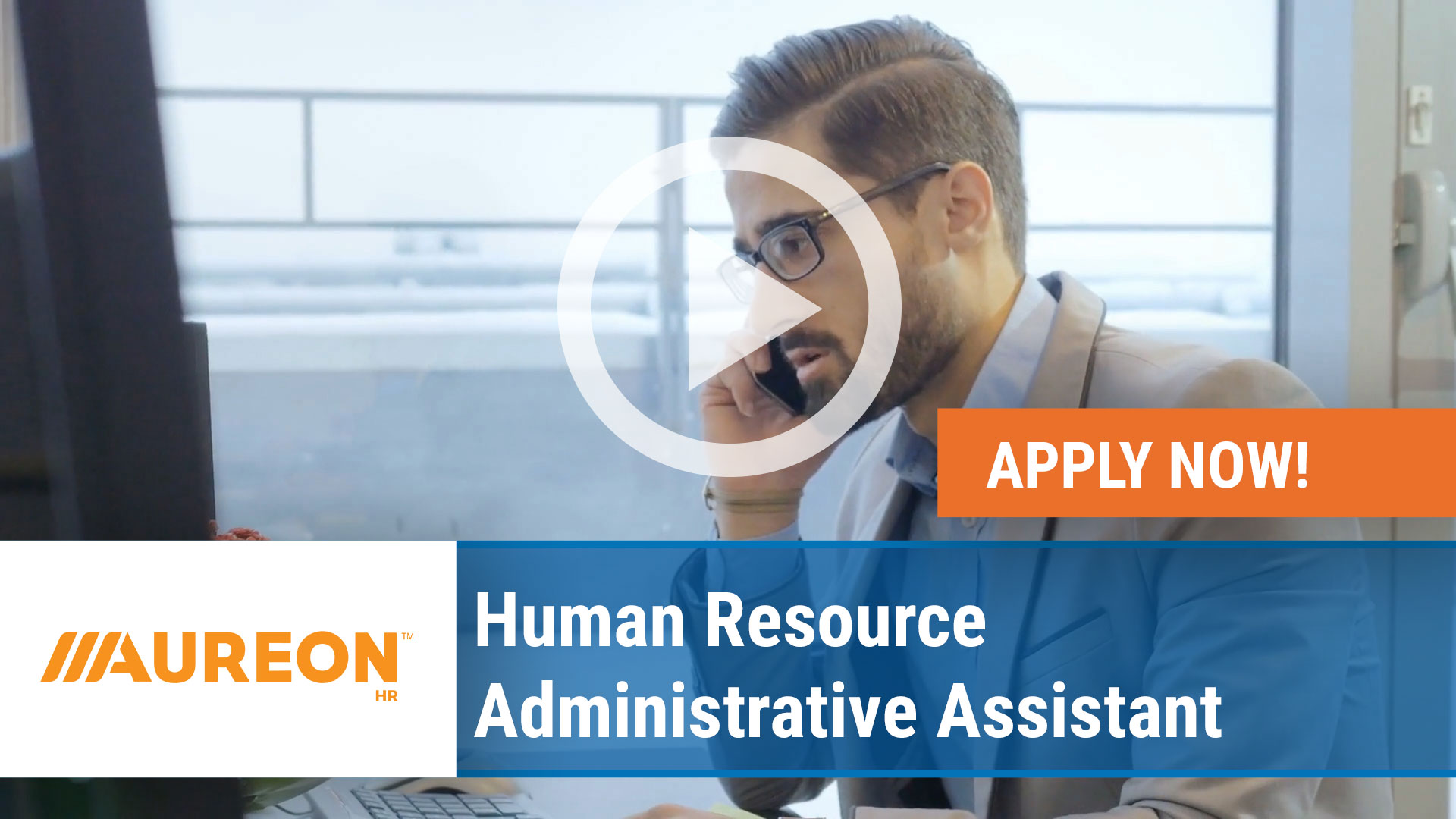 Watch our careers video for available job opening Human Resource Administrative Assistant in Des Moines Downtown