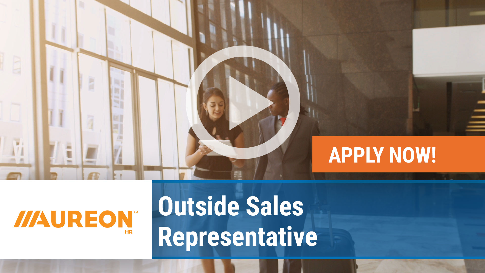 Watch our careers video for available job opening Outside Sales Representative in Des Moines Suburb, Iowa