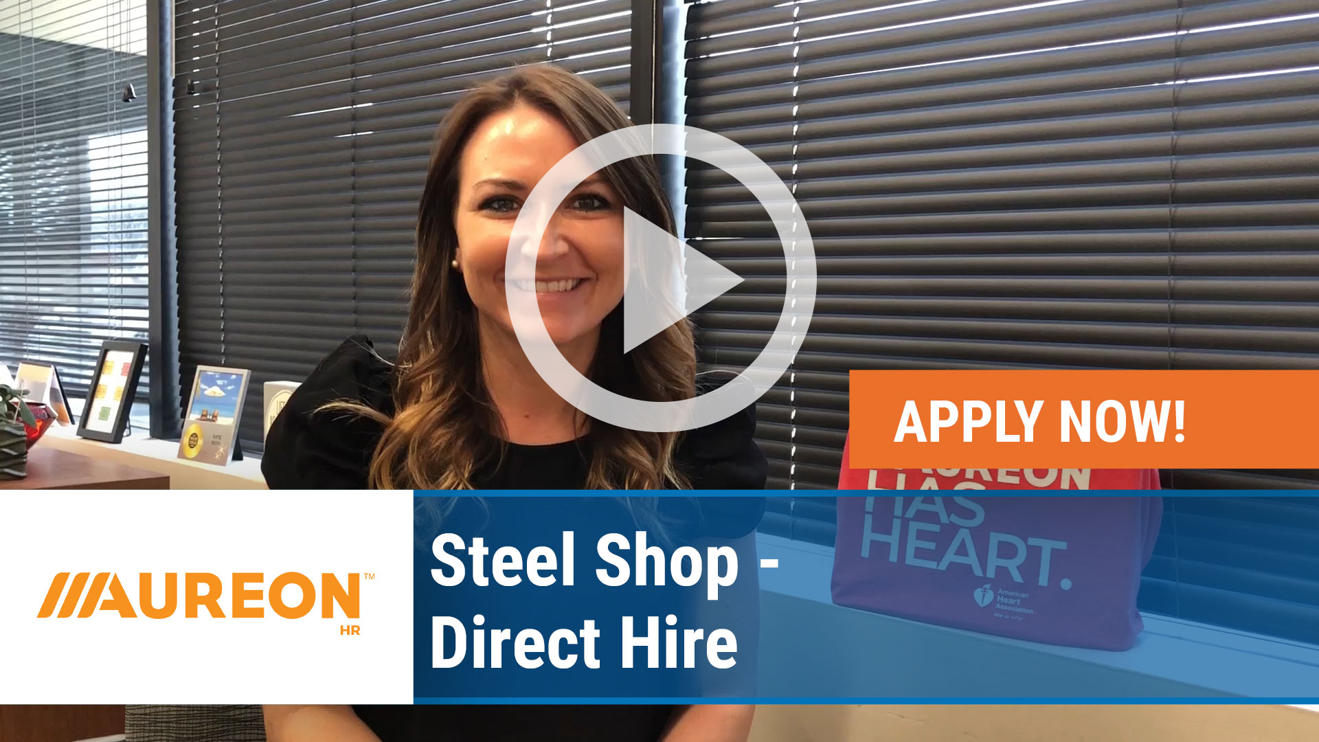 Watch our careers video for available job opening Steel Shop - Direct Hire in Des Moines,  IA