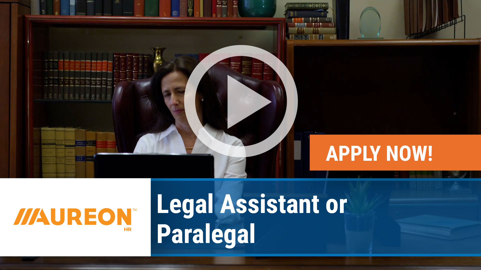 Watch our careers video for available job opening Legal Assistant or Paralegal in Des Moines,  Iowa