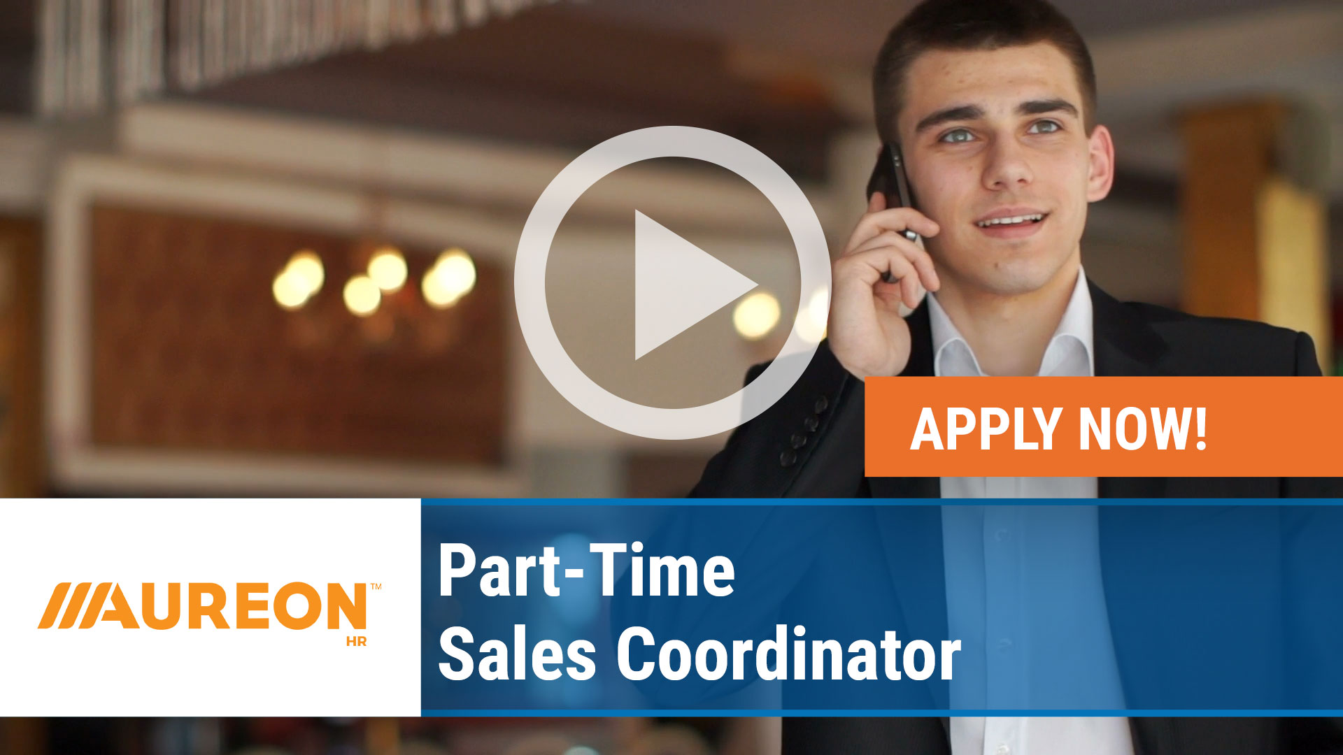 Watch our careers video for available job opening Part-Time Sales Coordinator in Des Moines,  Iowa