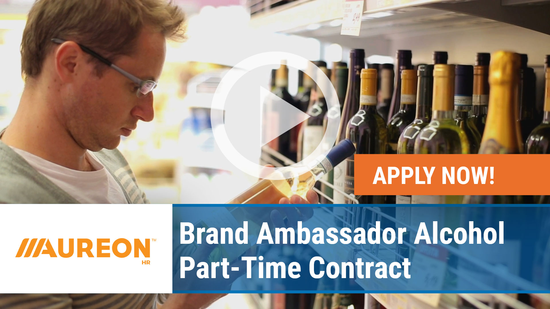 Watch our careers video for available job opening Brand Ambassador Alcohol Part-Time Contract in Des Moines,  IA Area