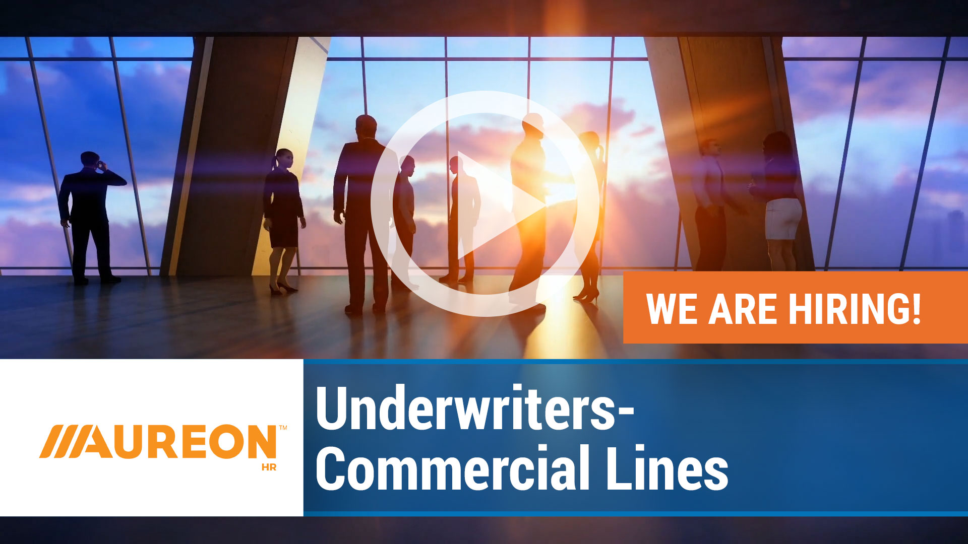 Watch our careers video for available job opening Underwriters - Commercial Lines in Des Moines, Iowa