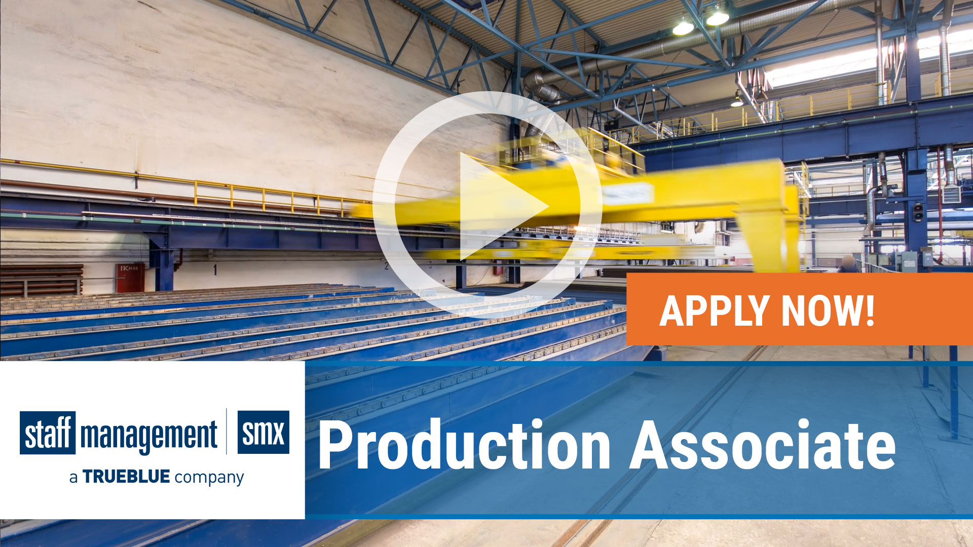 Watch our careers video for available job opening Production Associate in nationwide, USA