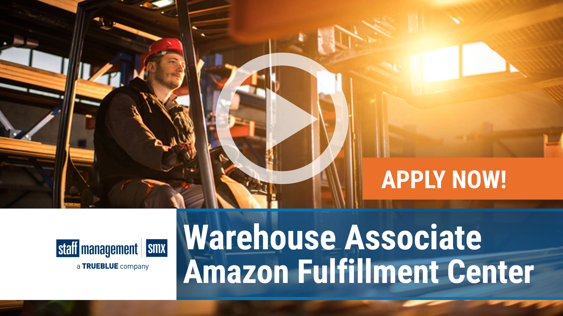 Watch our careers video for available job opening Warehouse Associate - Amazon Fulfillment Center in Vancouver & Toronto Metro, Canada