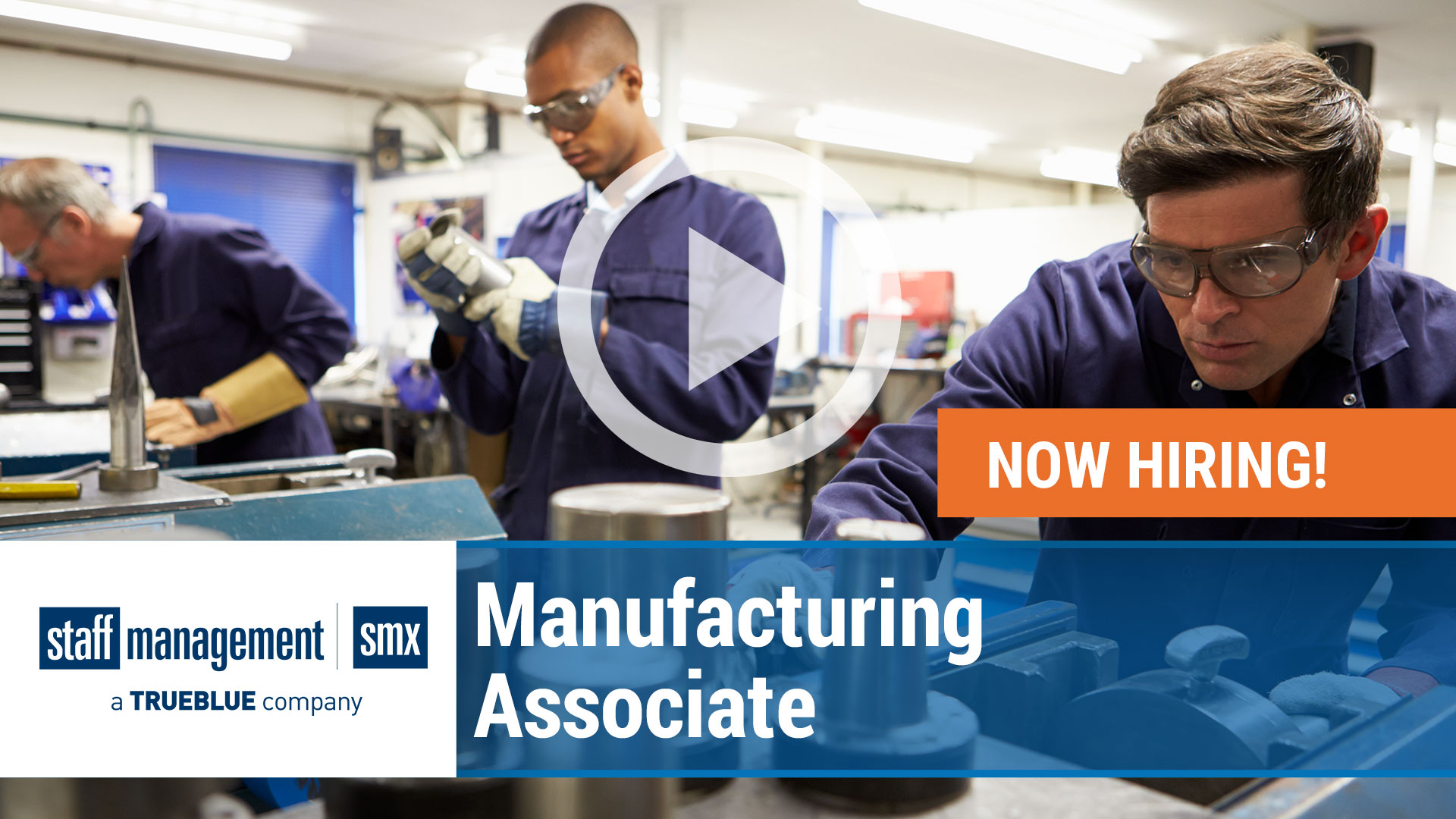 Watch our careers video for available job opening Manufacturing Associate in Various Offices in Nationwide, Texas