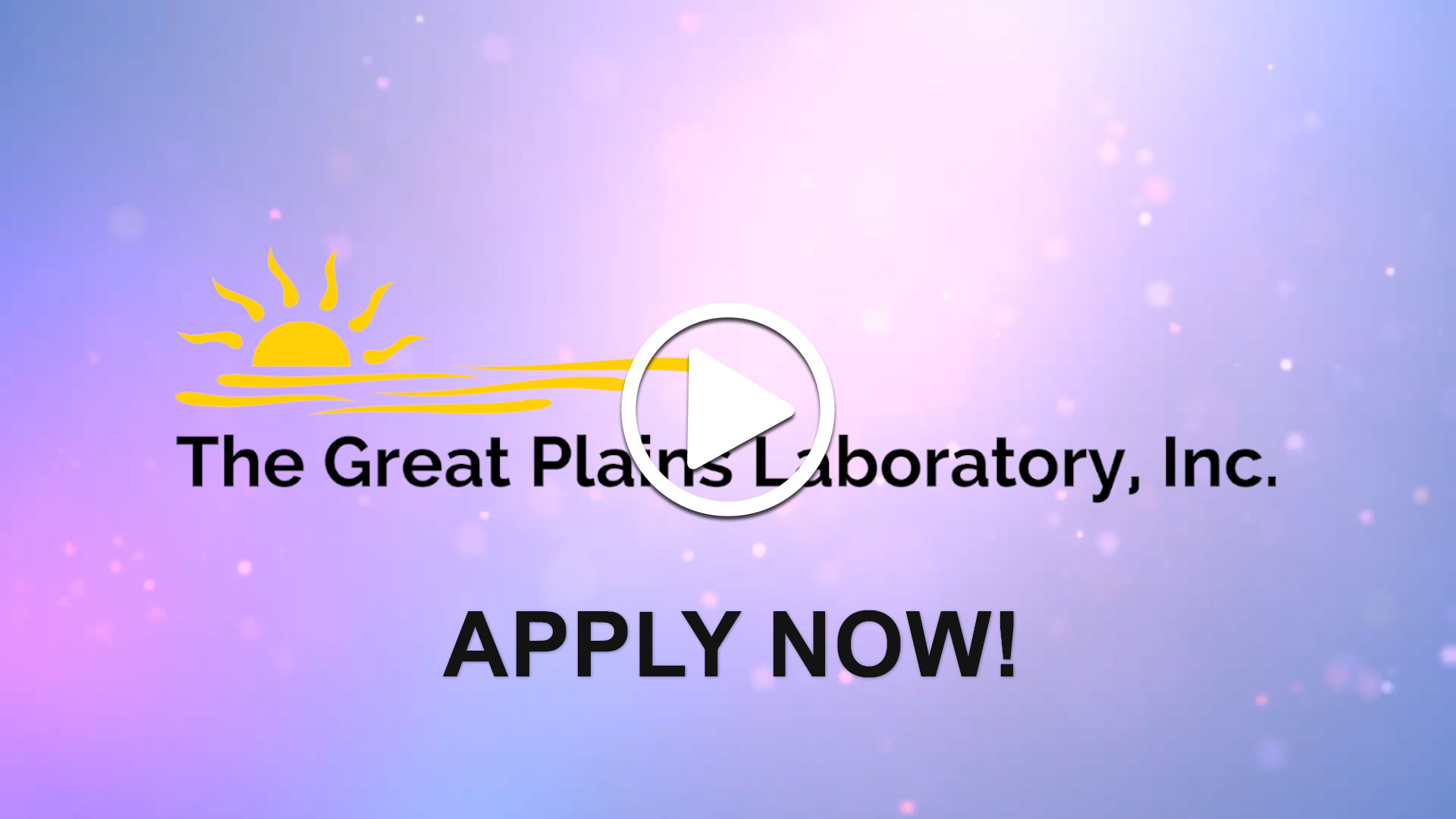Watch our careers video for available job opening Laboratory Scientist in Lenexa, KS, USA