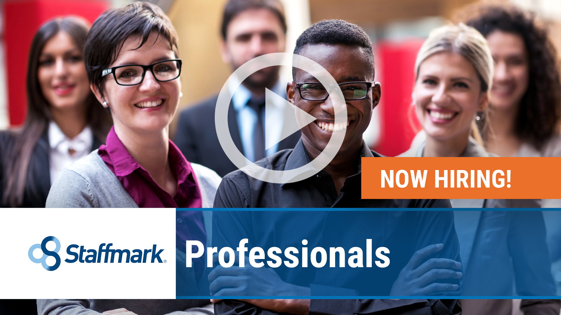 Watch our careers video for available job opening Professionals in Nationwide