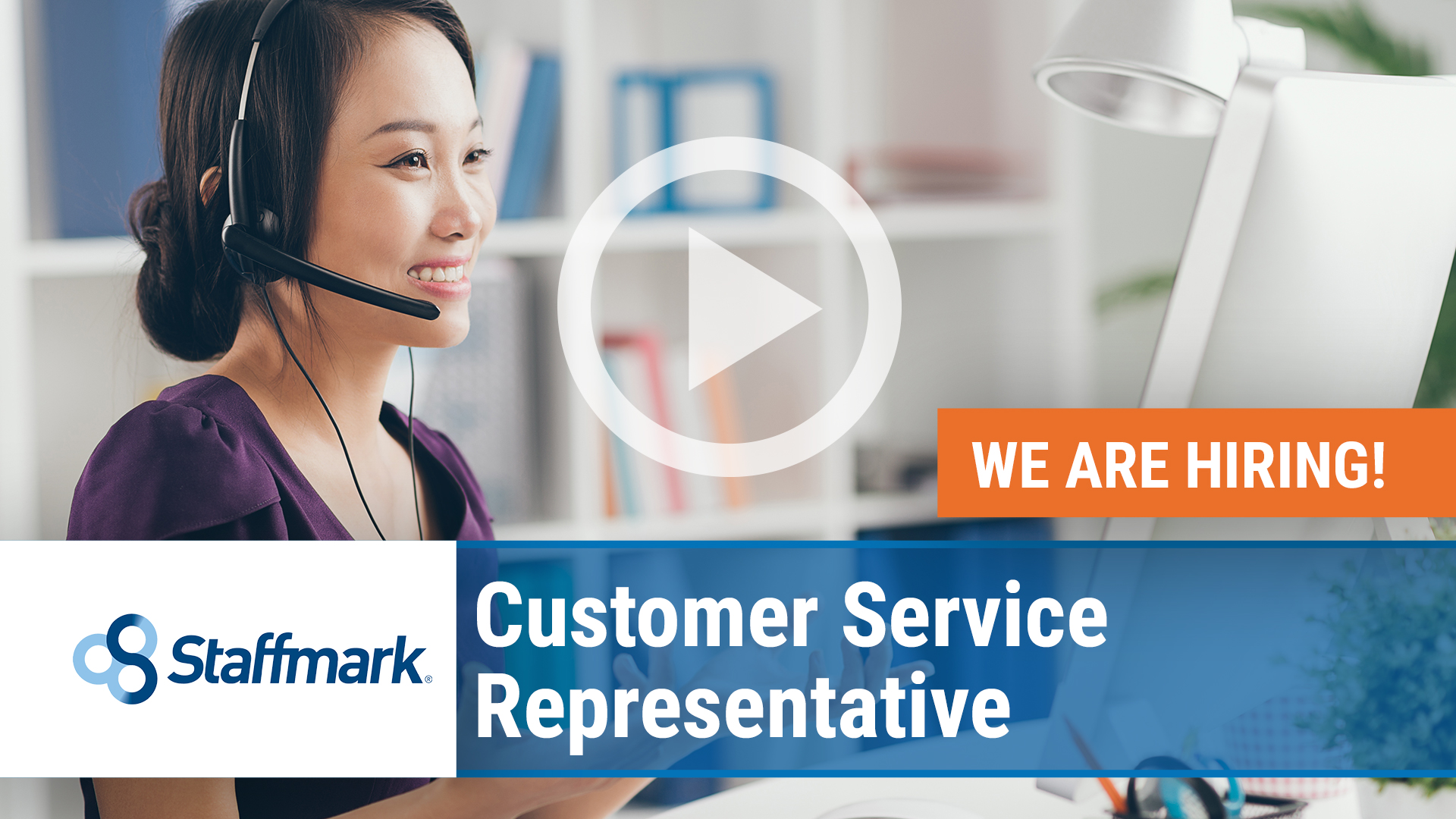 Watch our careers video for available job opening Customer Service Representative in Auburn, WA