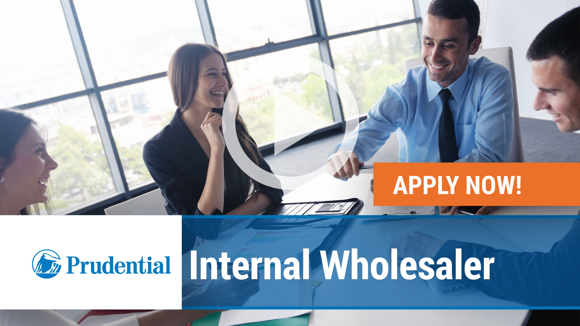 Watch our careers video for available job opening Internal Wholesaler in Newark, NJ