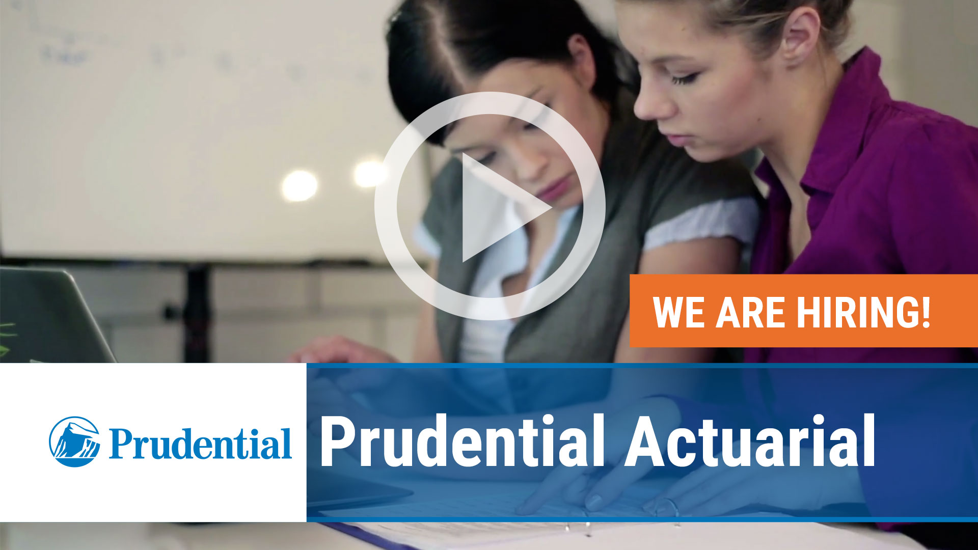 Watch our careers video for available job opening Associate Actuary in Newark NJ, Hartford CT