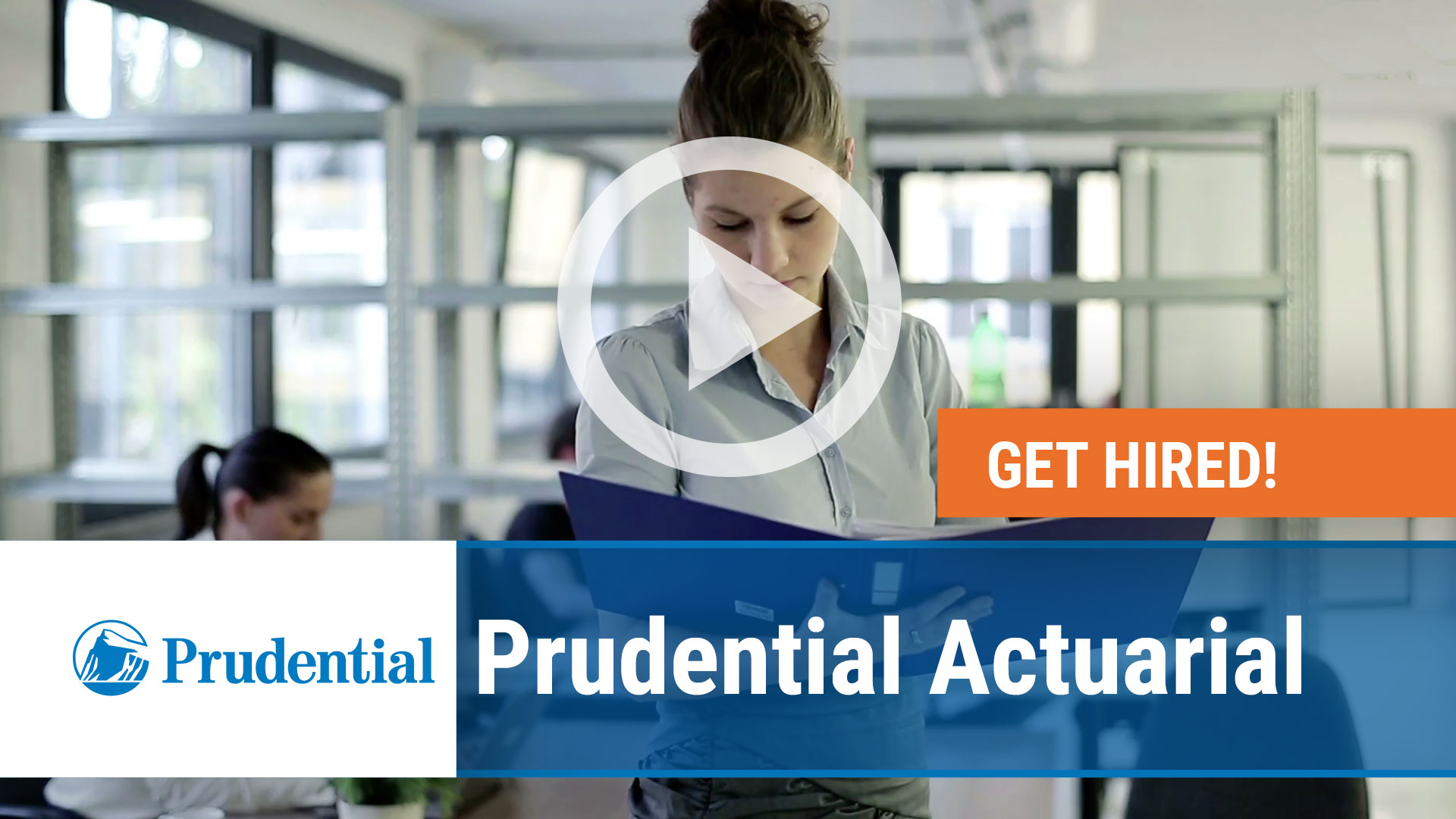 Watch our careers video for available job opening Associate Actuary in Shelton, CT