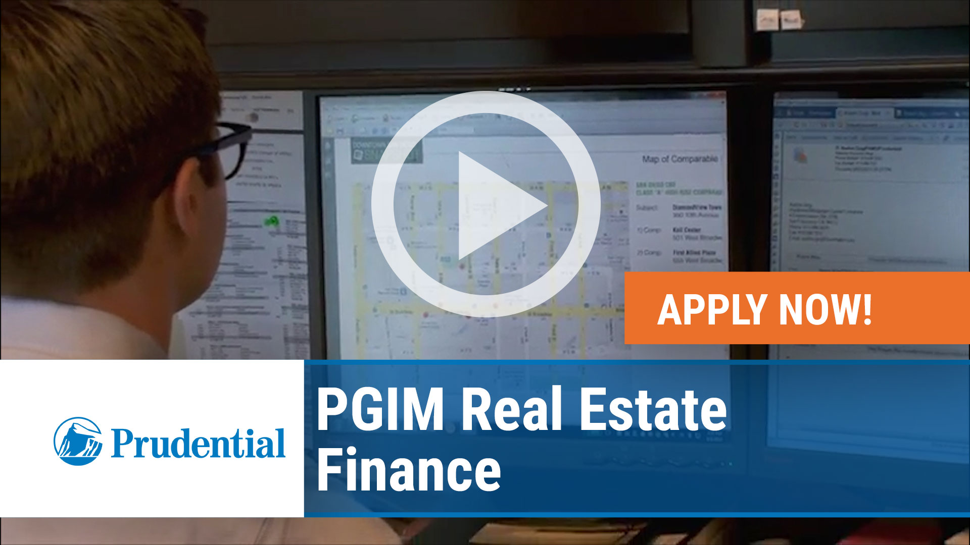 Watch our careers video for available job opening PGIM Real Estate Finance in Arlington, VA