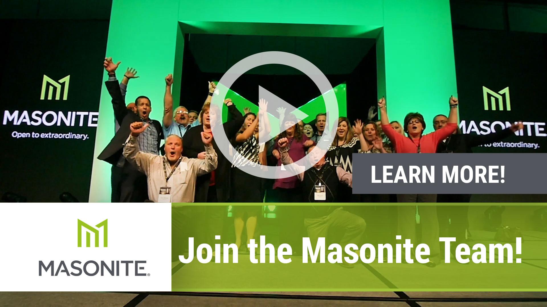 Masonite Team Video