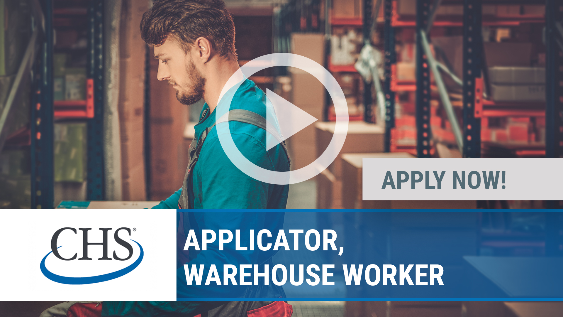 Watch our careers video for available job opening APPLICATOR, WAREHOUSE WORKER in POCAHONTAS, IL