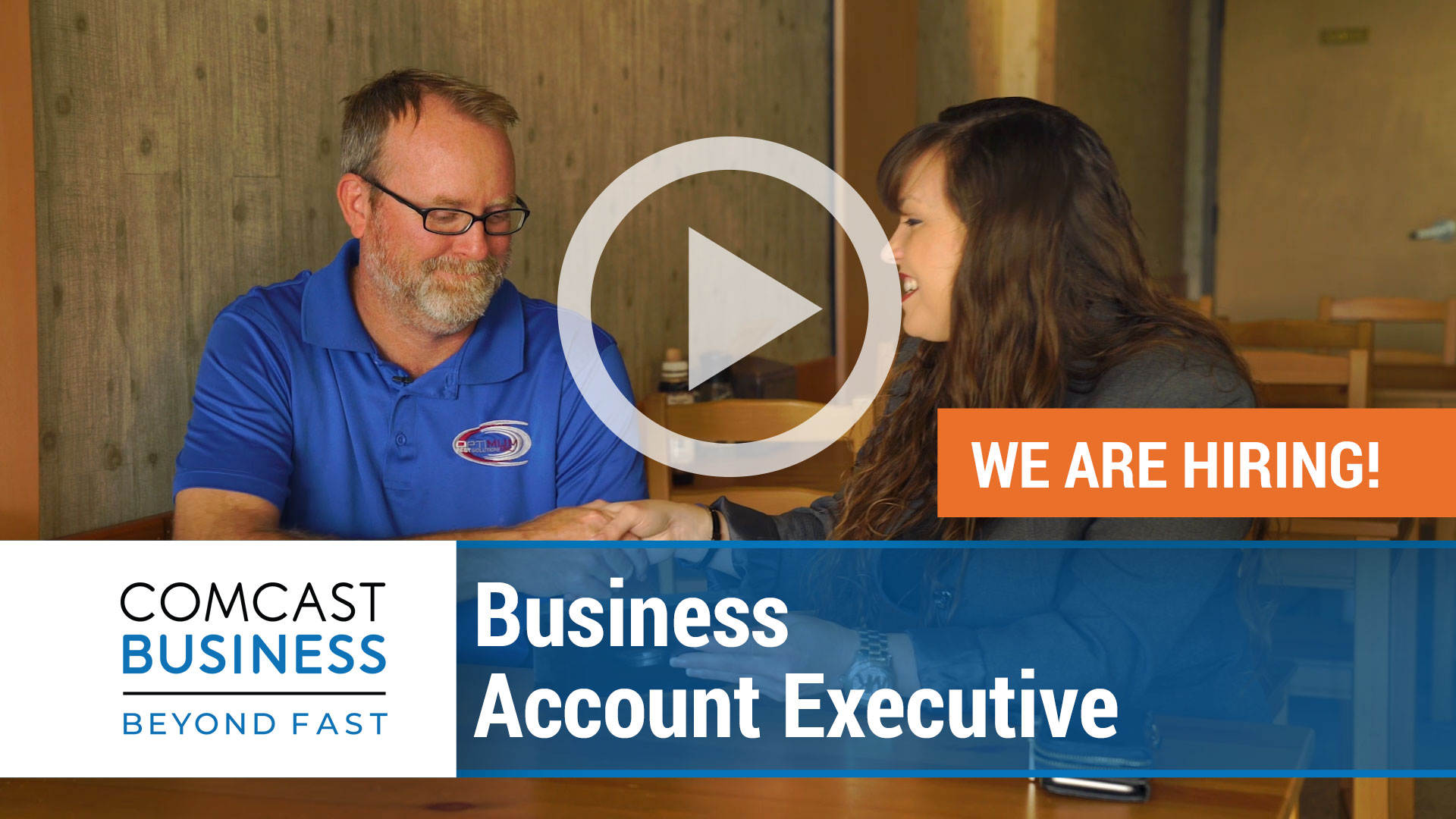 Watch our careers video for available job opening Business Account Executive in Varies, Varies.  USA