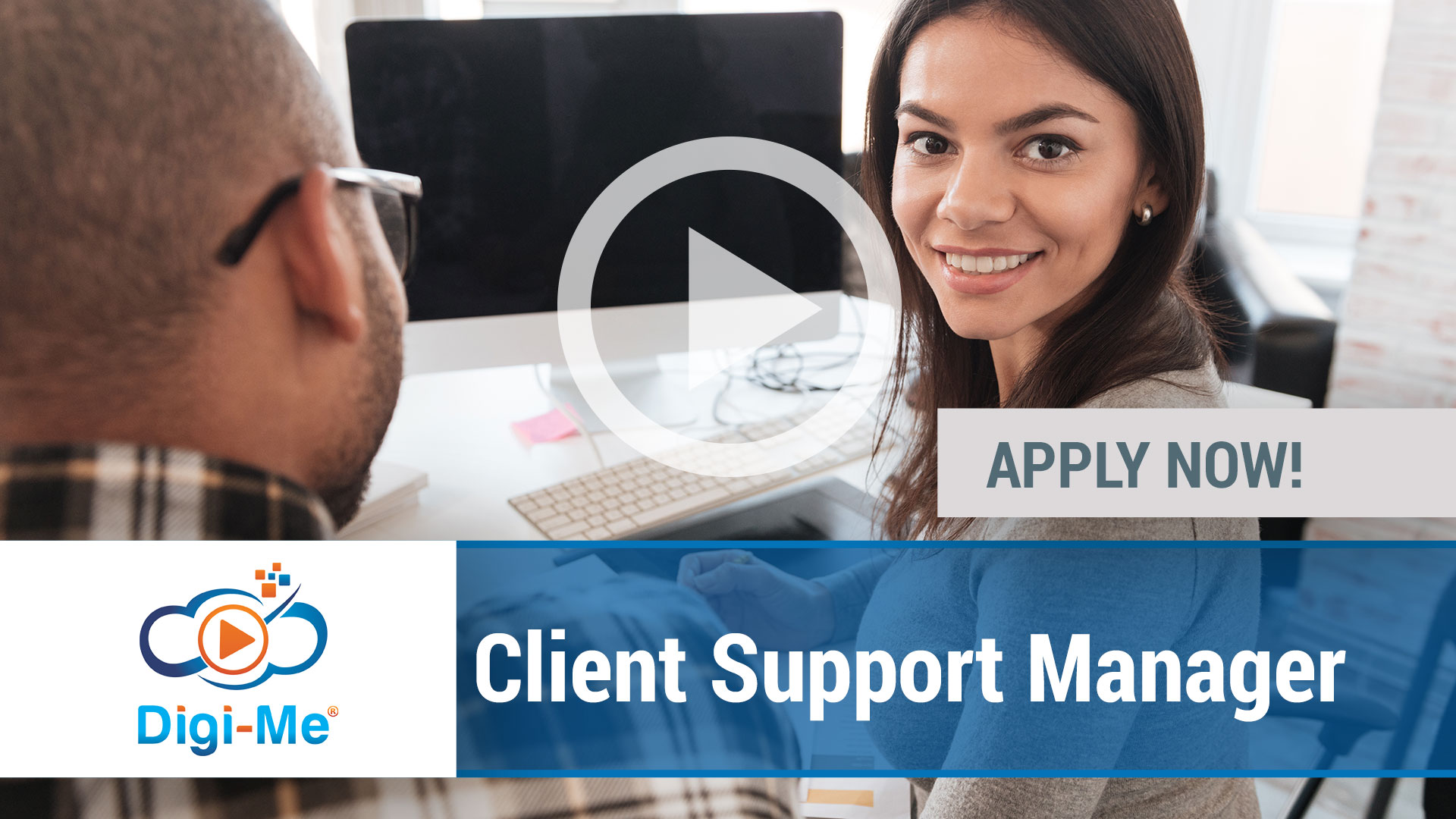 Watch our careers video for available job opening Client Support Manager in Naperville, IL, USA