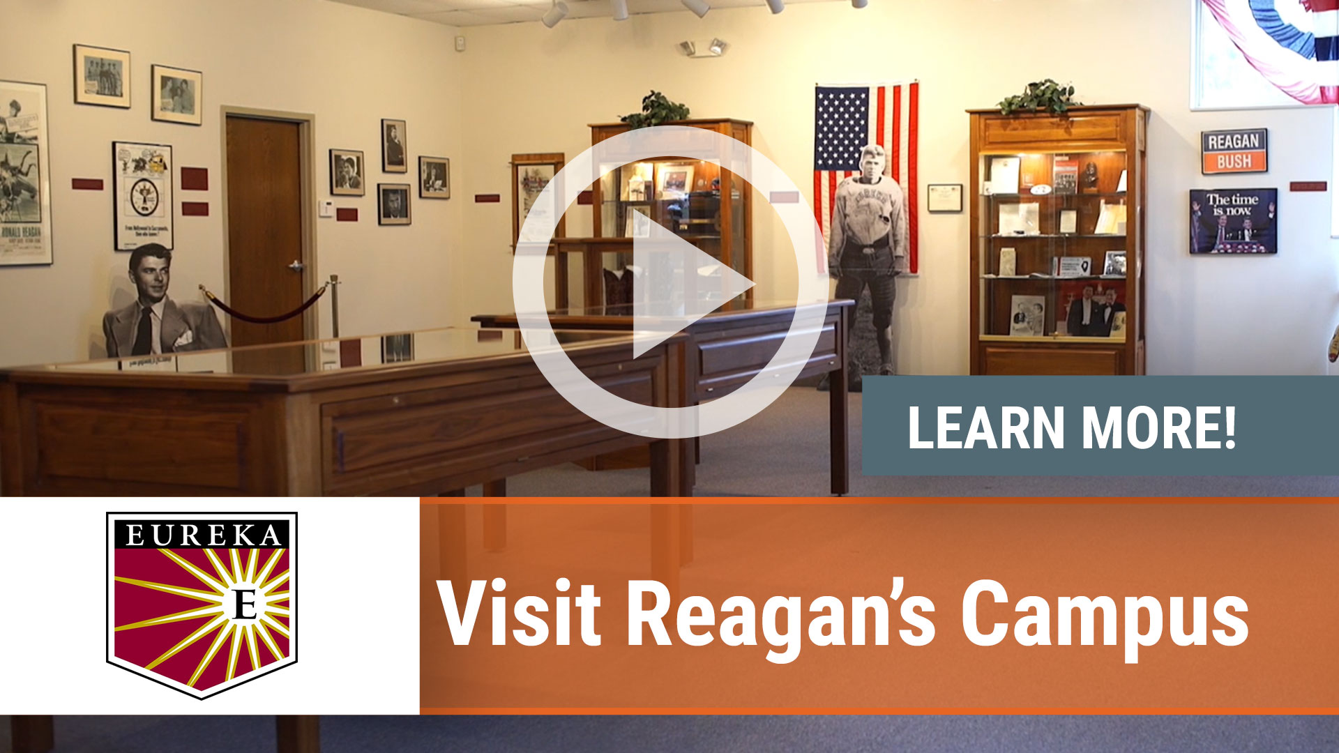 Watch our careers video for available job opening Visit Reagan's Campus in Eureka, IL, USA