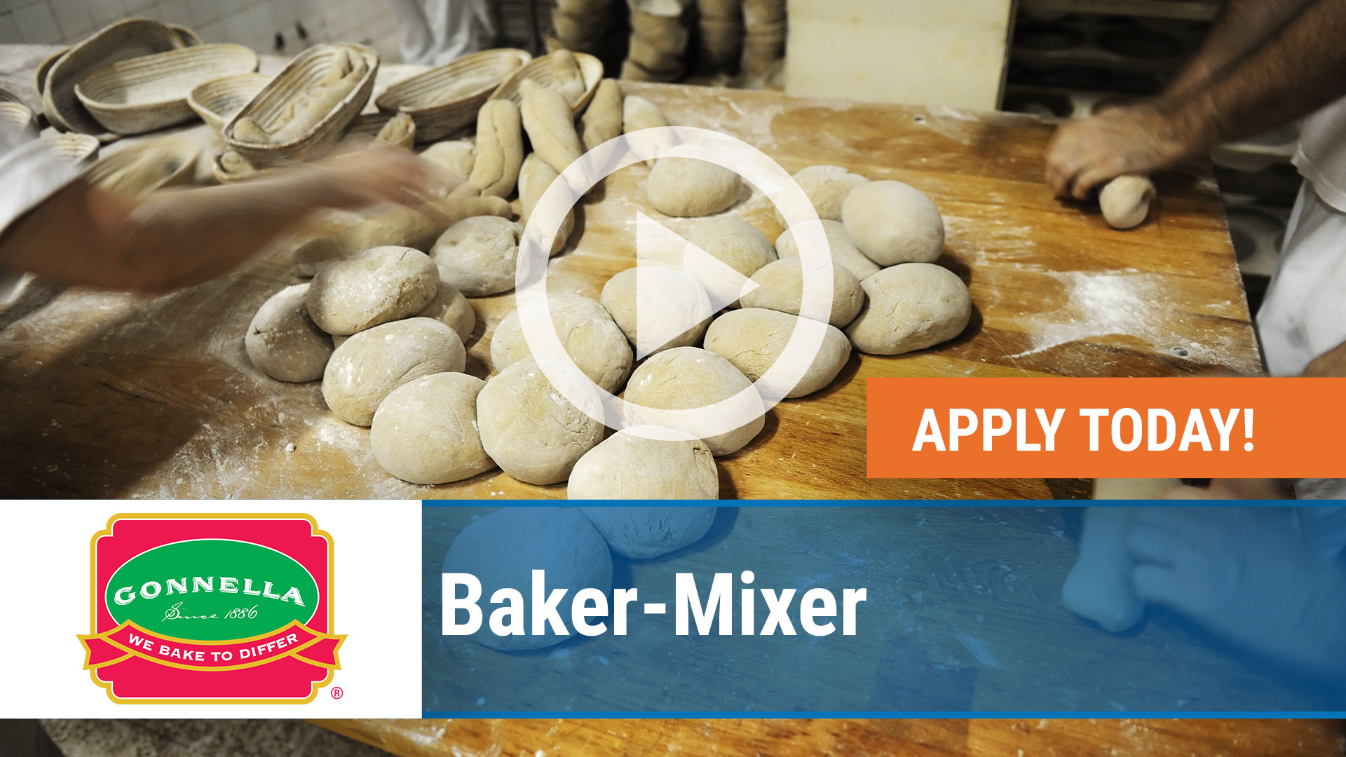 Watch our careers video for available job opening Baker-Mixer in nationwide, USA