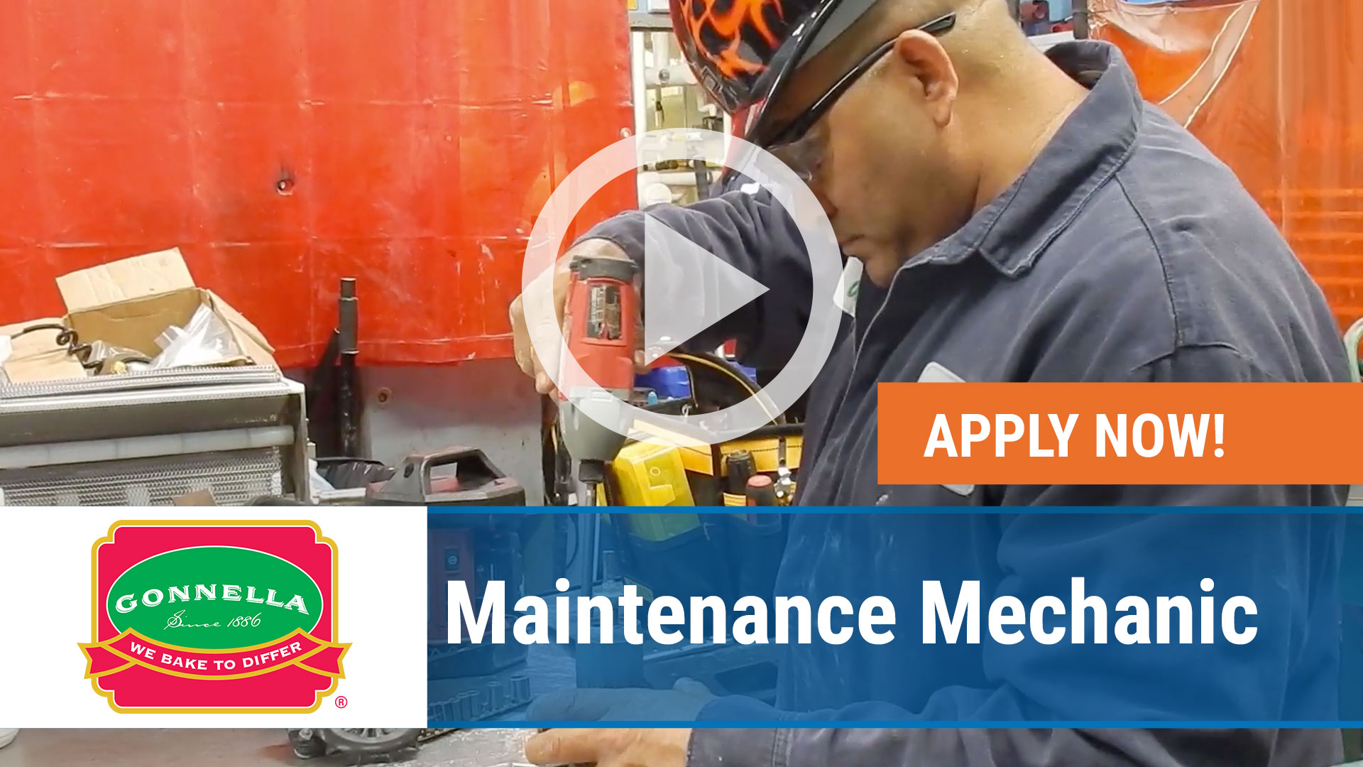 Watch our careers video for available job opening Maintenance Mechanic in Schaumburg, IL