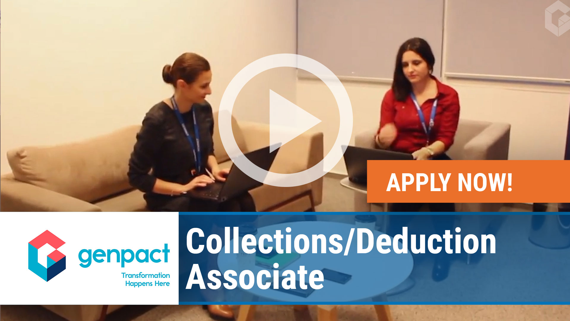 Watch our careers video for available job opening Collections - Deduction Associate in Wilkes-Barre, Pennsylvania