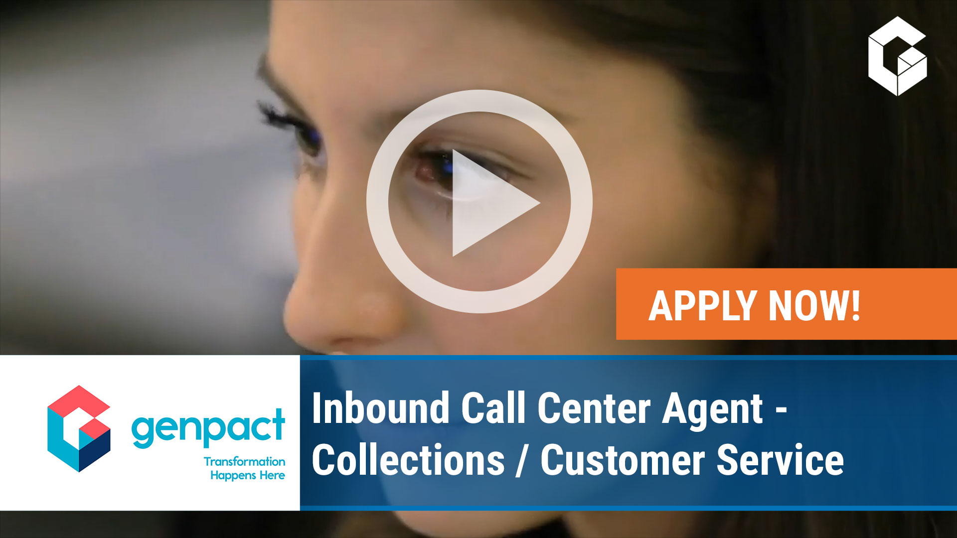 Watch our careers video for available job opening Inbound Call Center Agent – Collections Customer  in Portland, Oregon