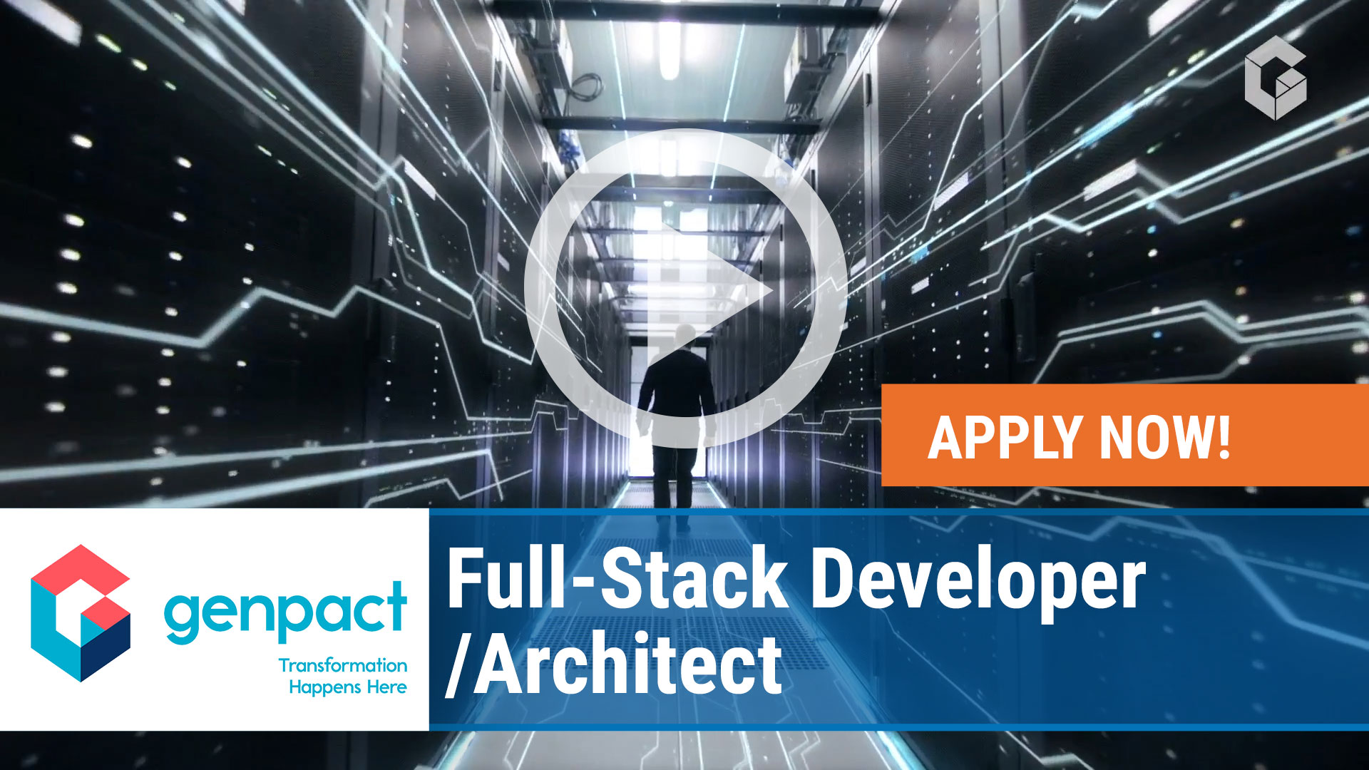 Watch our careers video for available job opening Full-Stack Developer - Architect in Boston, MA