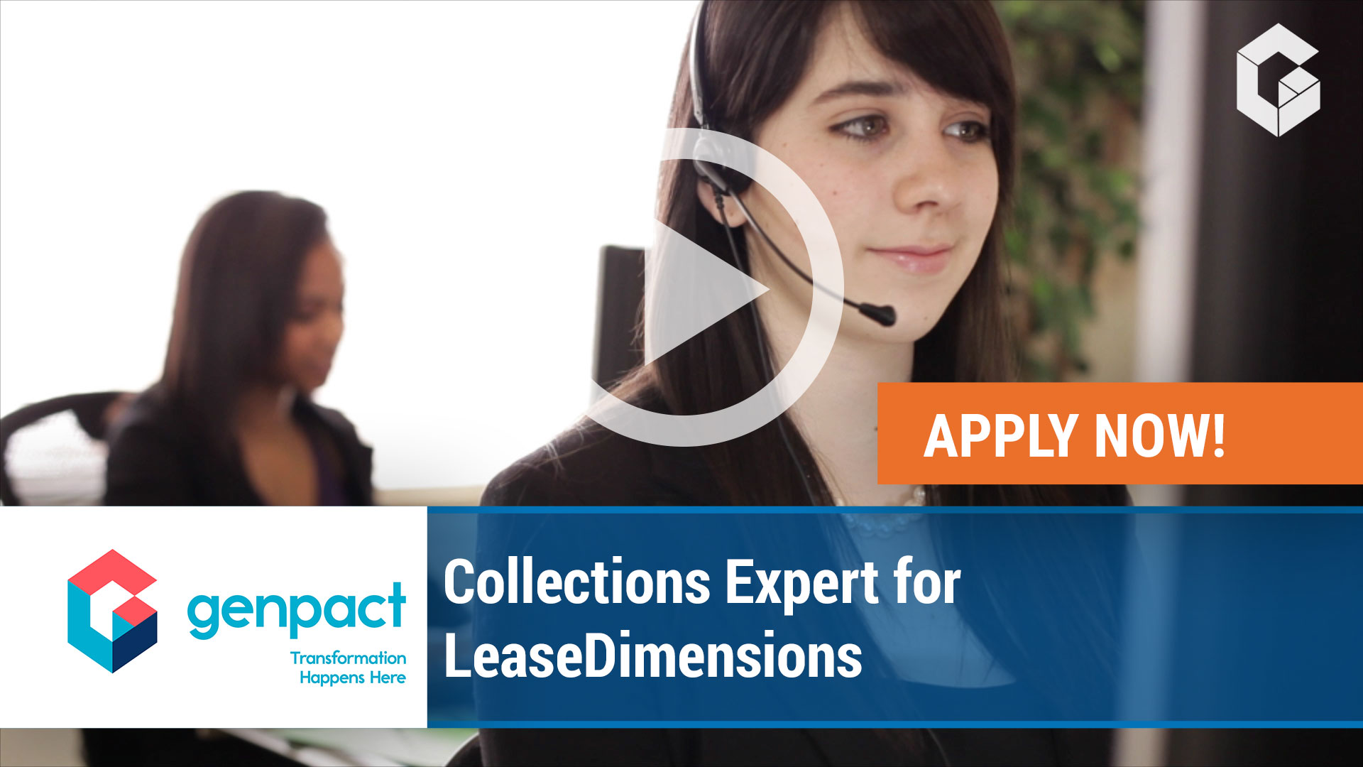 Watch our careers video for available job opening Collections Expert for LeaseDimensions in Portland, Oregon