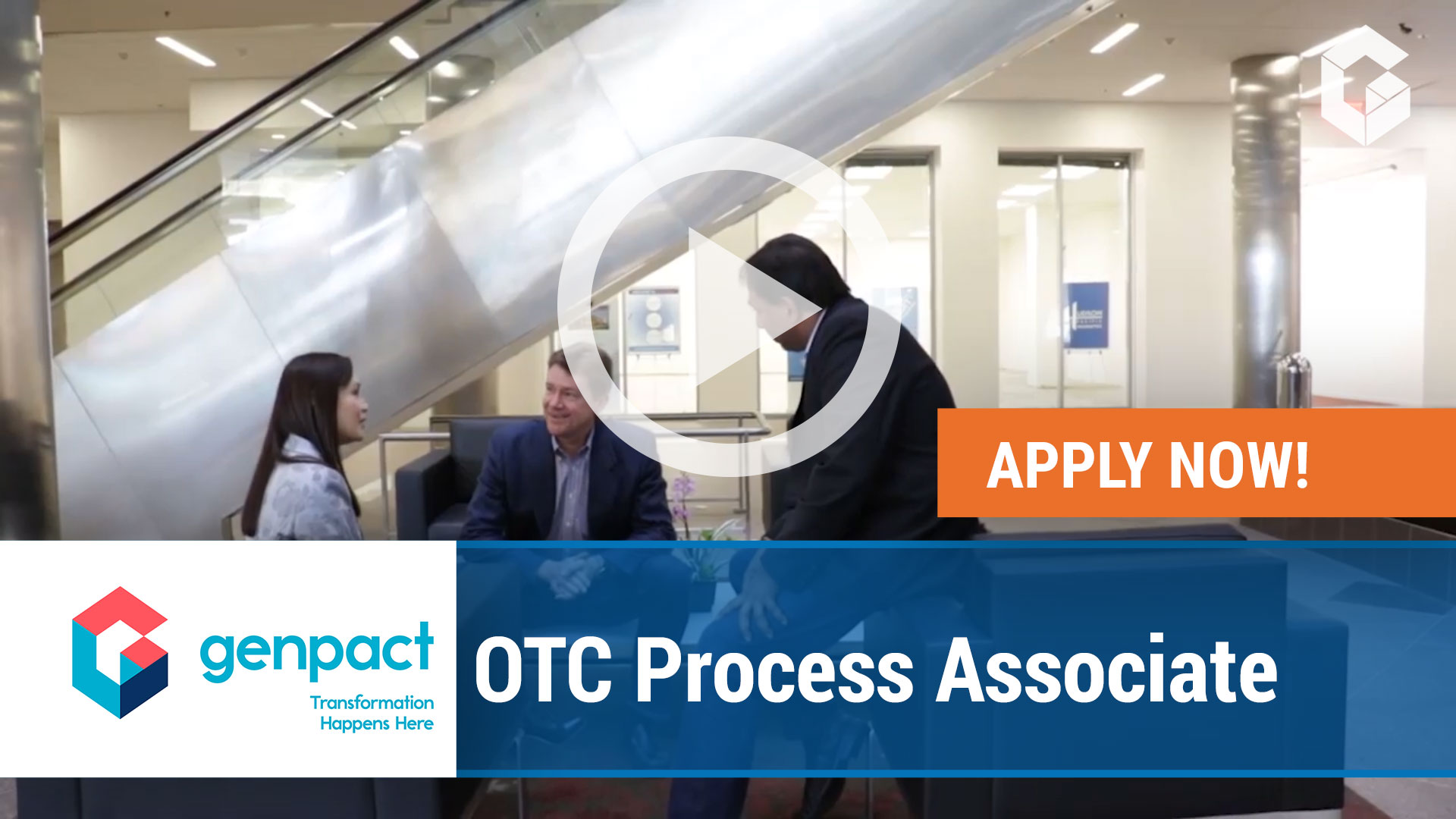 Watch our careers video for available job opening OTC Process Associate in Wilkes-Barre, Pennsylvania