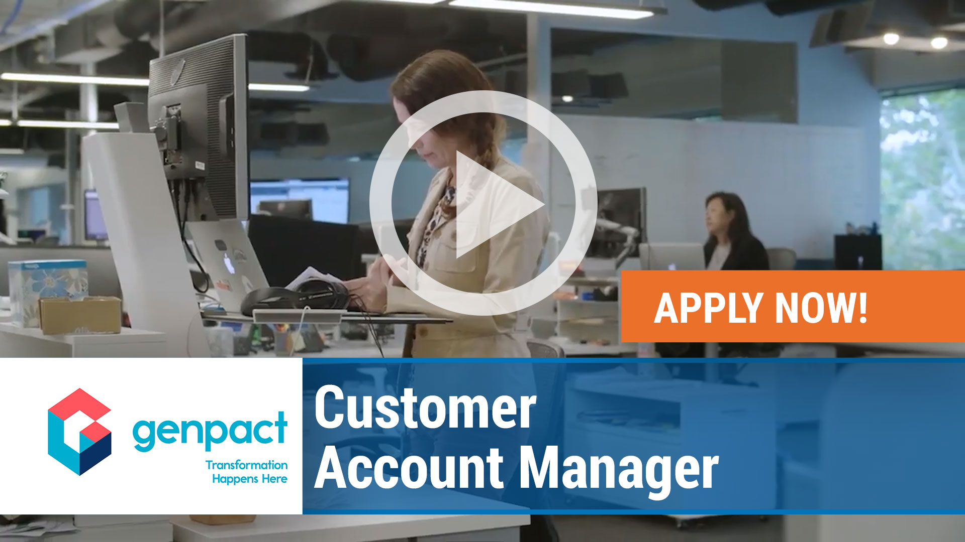 Watch our careers video for available job opening Customer Account Manager in Lynn, MA, USA