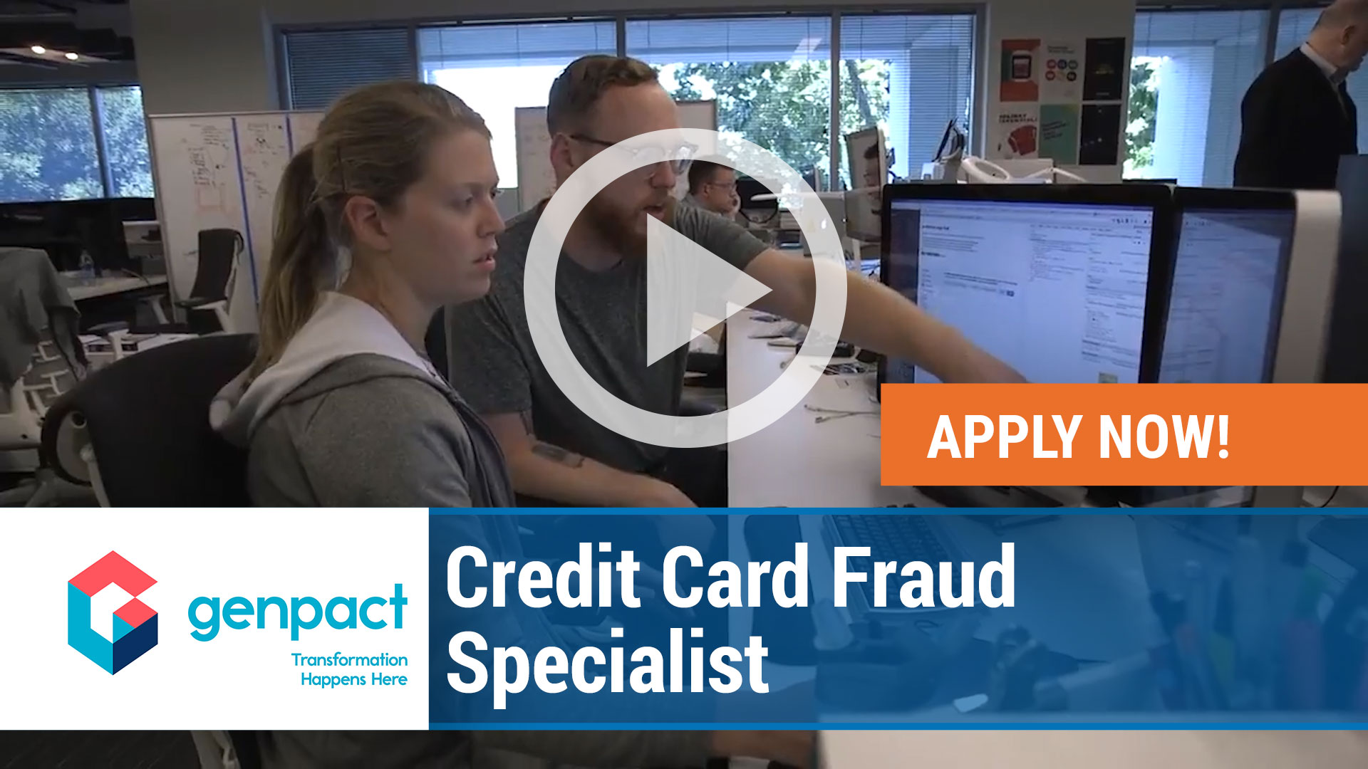 Watch our careers video for available job opening Credit Card Fraud Specialist in Richardson, TX, USA