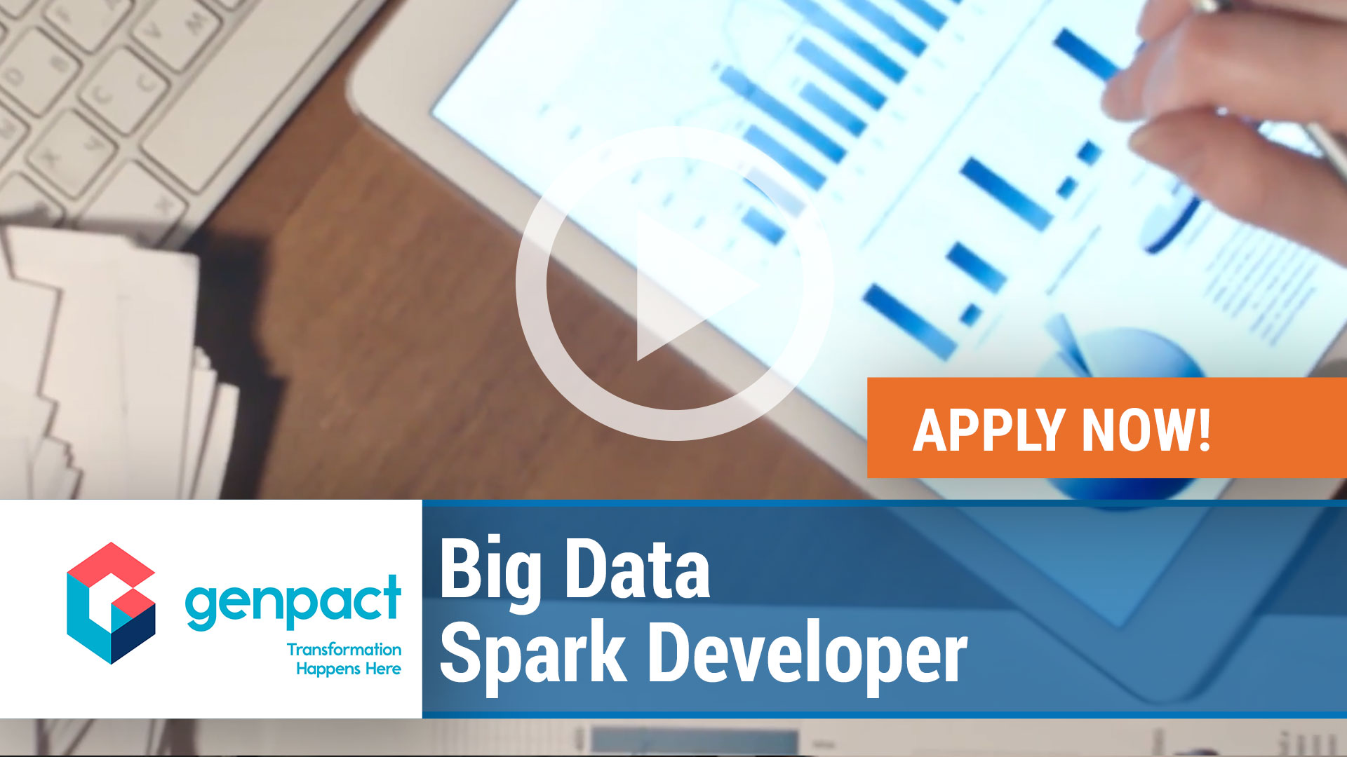 Watch our careers video for available job opening Big Data Spark Developer in Reston, VA, USA