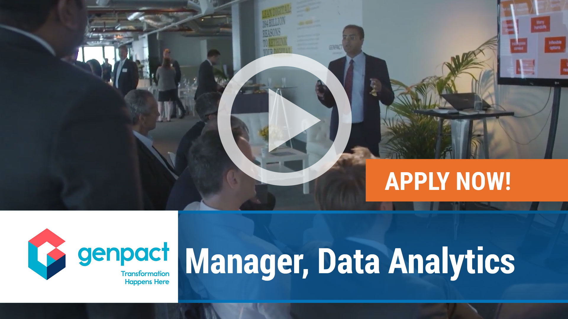 Watch our careers video for available job opening Manager, Data Analytics in Dublin, OH, USA