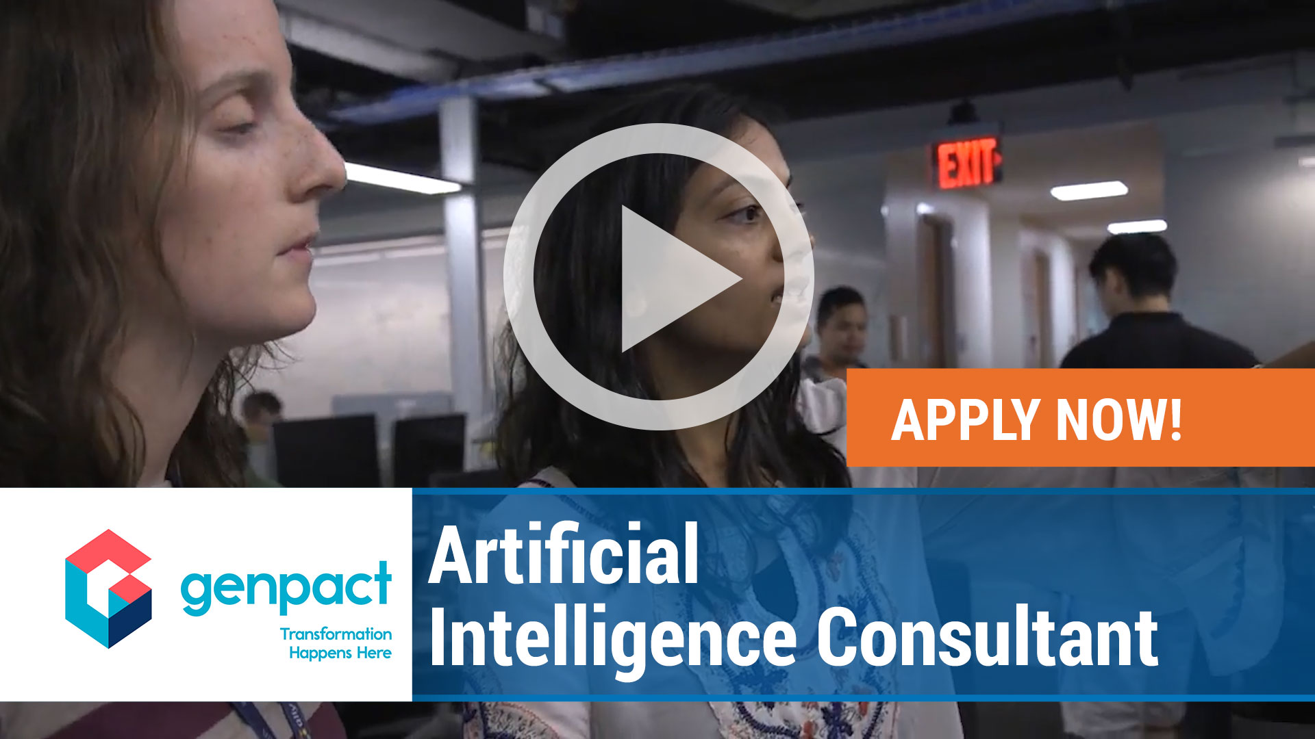 Watch our careers video for available job opening Artificial Intelligence Consultant in Dedham, MA, USA