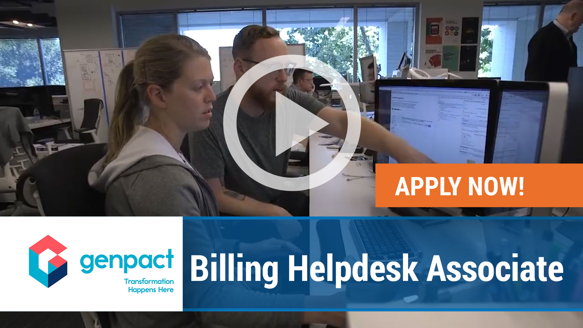 Watch our careers video for available job opening Billing Helpdesk Associate in Wilkes-Barre, PA, USA