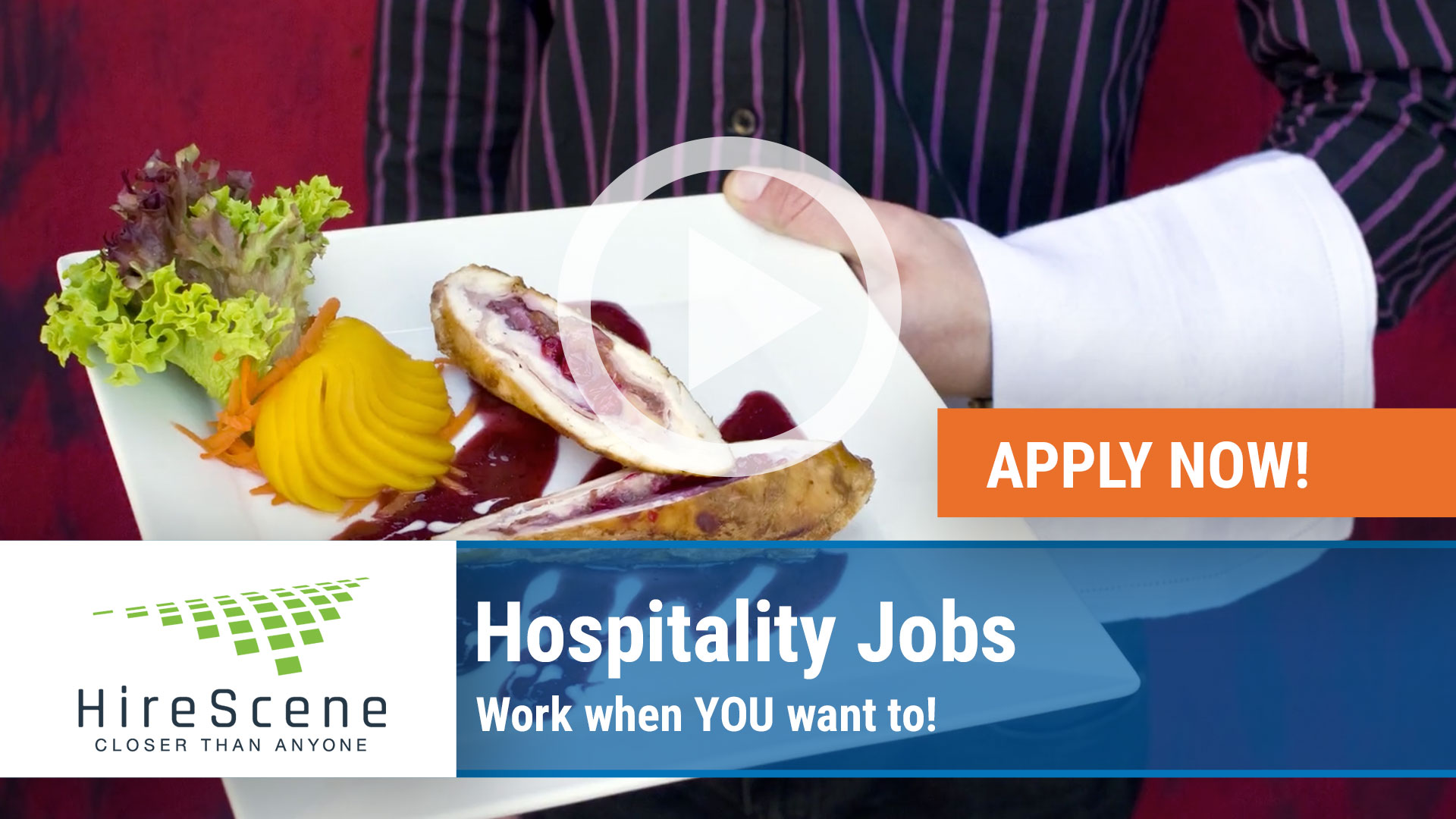 Watch our careers video for available job opening HOSPITALITY JOBS WORK WHEN YOU WANT TO in Raleigh, NC