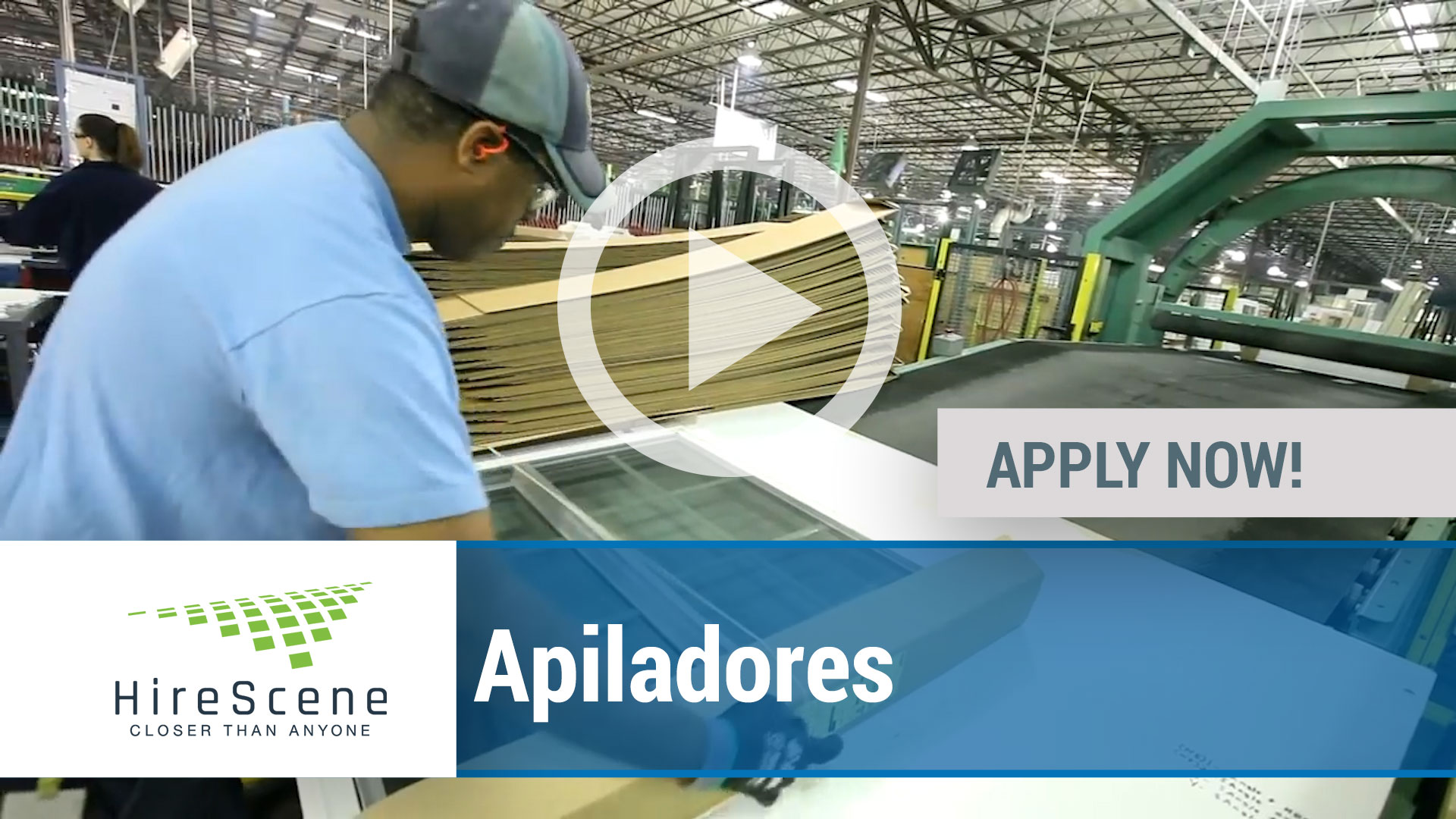 Watch our careers video for available job opening Apiladores in Dallas, TX, USA
