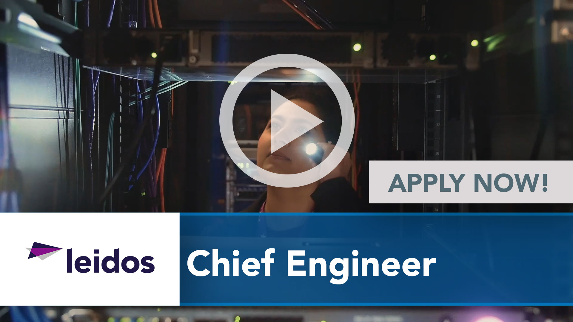 Watch our careers video for available job opening Chief Engineer in National Capital Region with