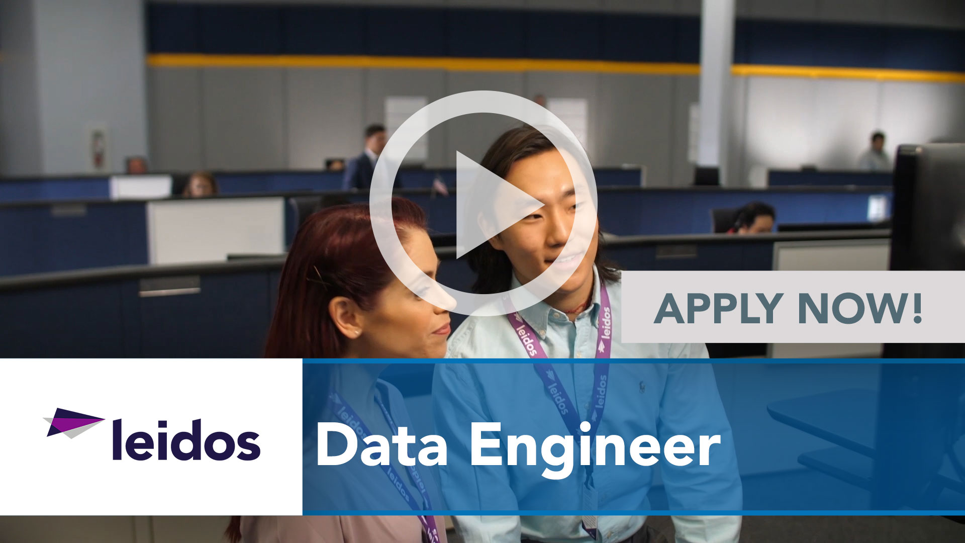 Watch our careers video for available job opening Data Engineer in National Capital Region with