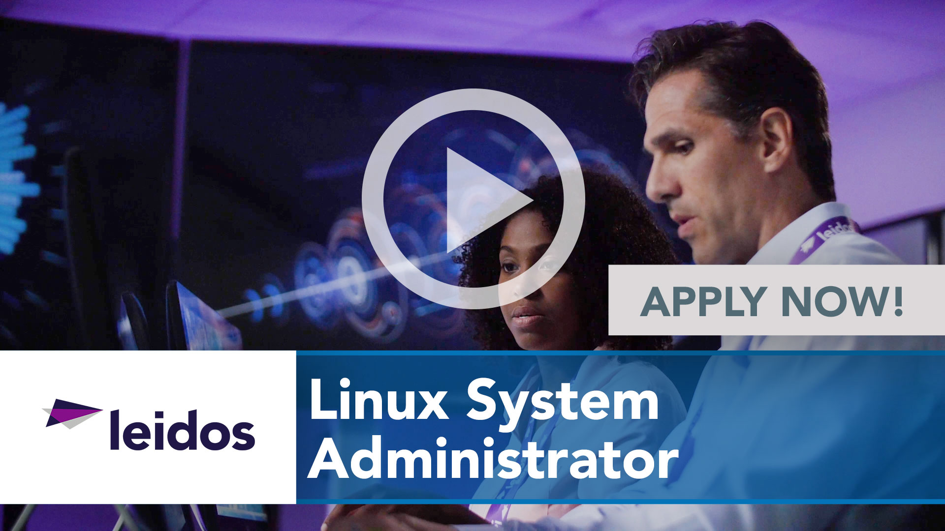Watch our careers video for available job opening Linux System Administrator in National Capital Region with