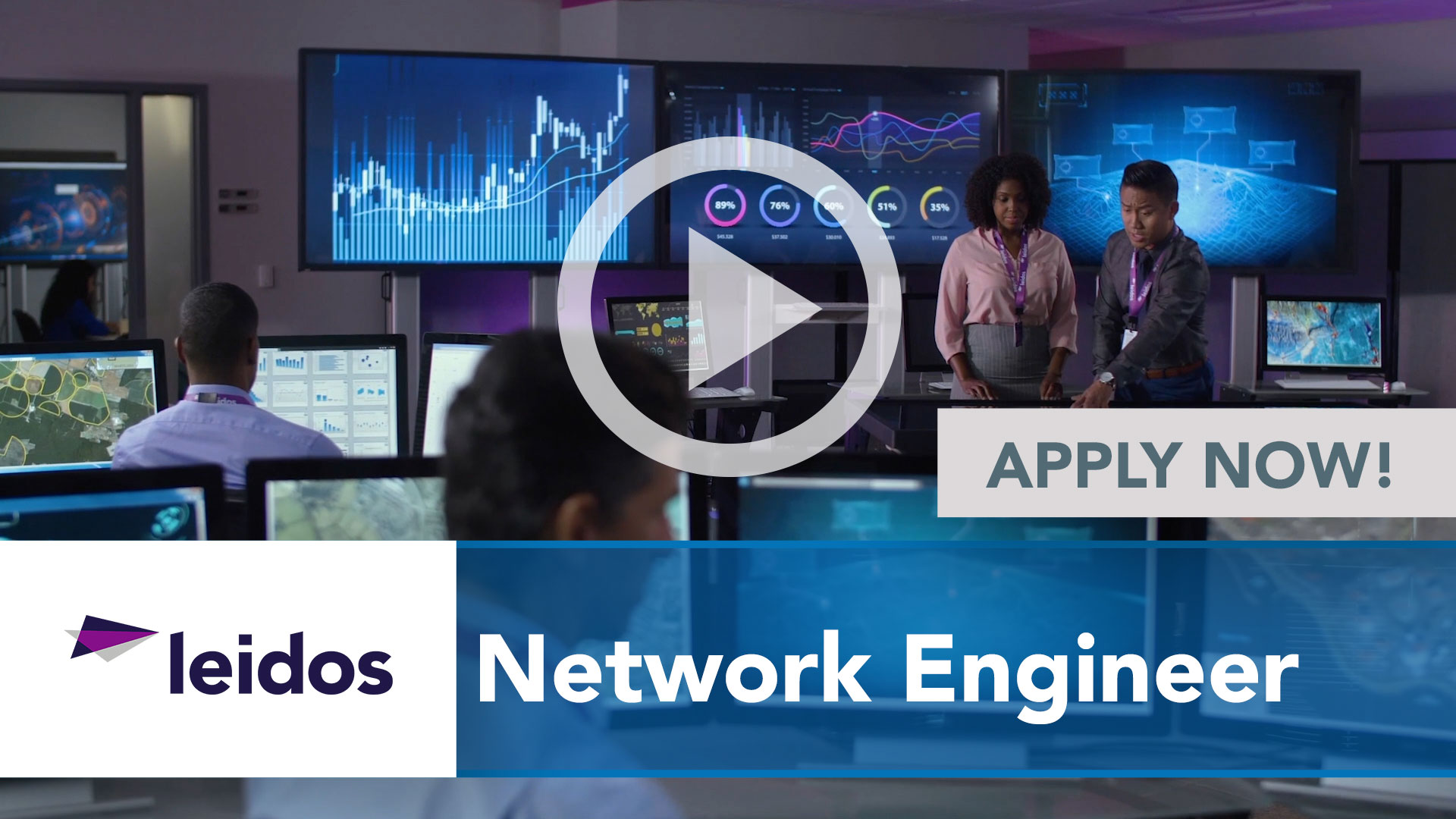 Watch our careers video for available job opening Network Engineer in National Capital Region with