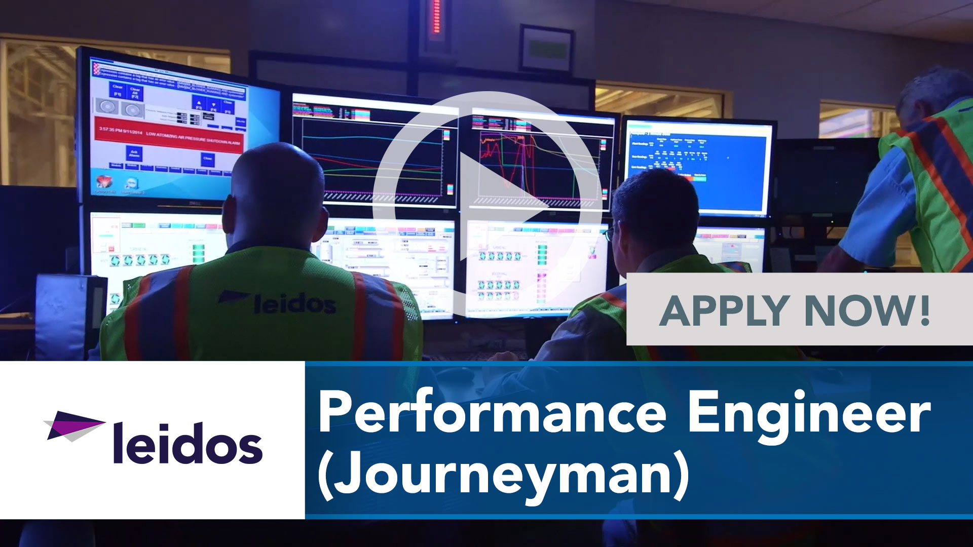 Watch our careers video for available job opening Performance Engineer (Journeyman) in National Capital Region with