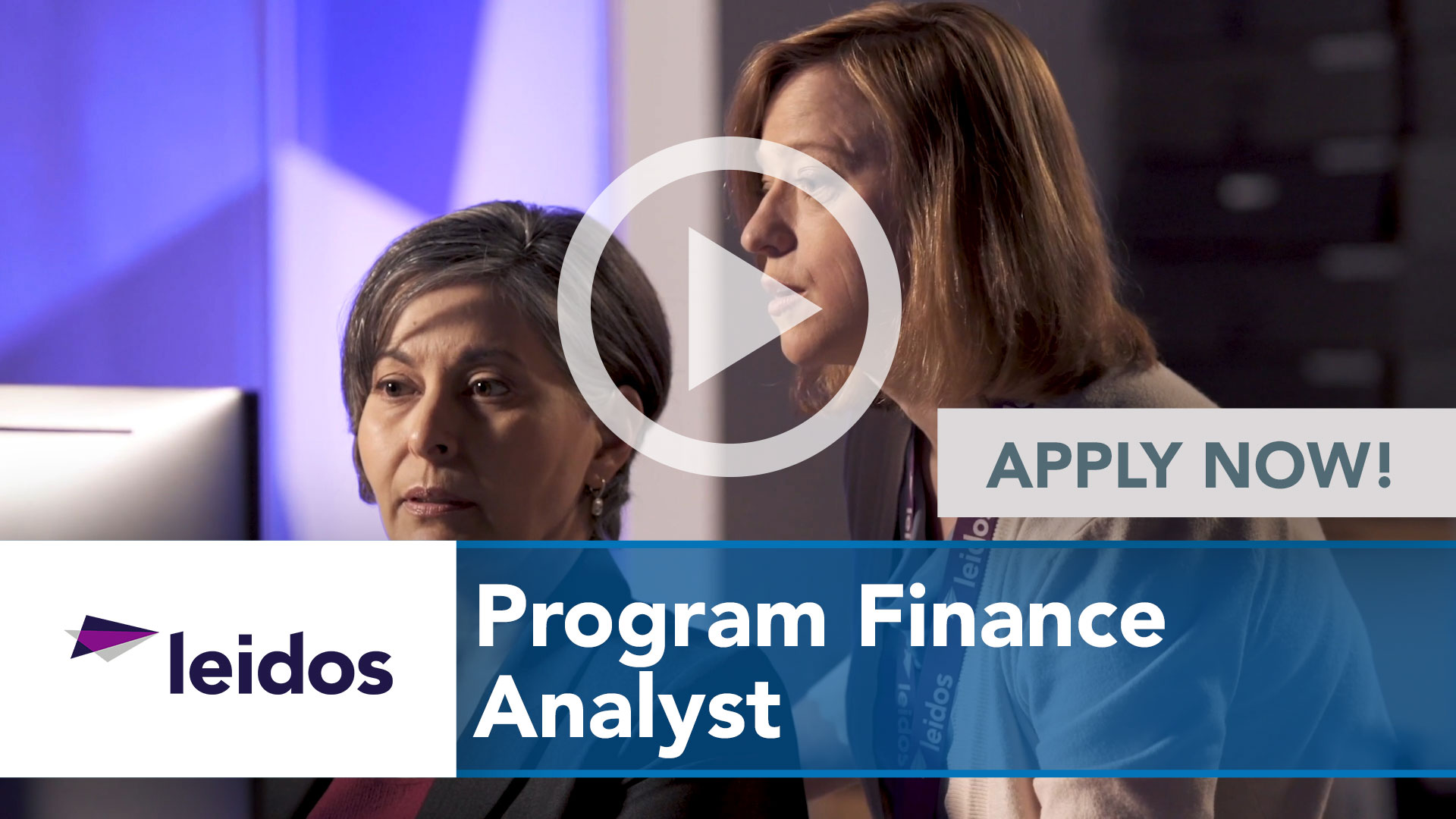 Watch our careers video for available job opening Program Finance Analyst in National Capital Region with